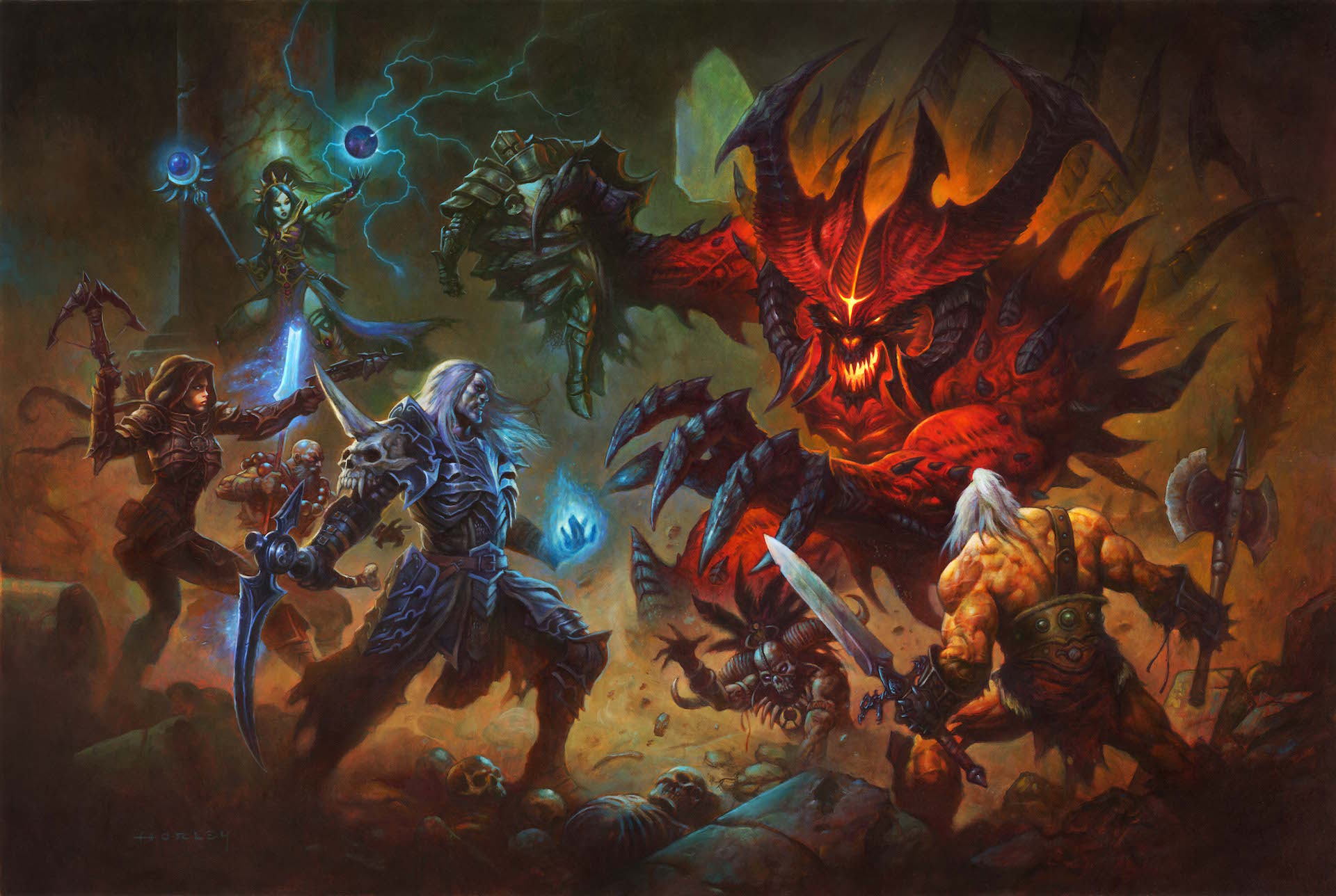 Diablo: Immortal coming to mobile as a 'full-fledged' action RPG
