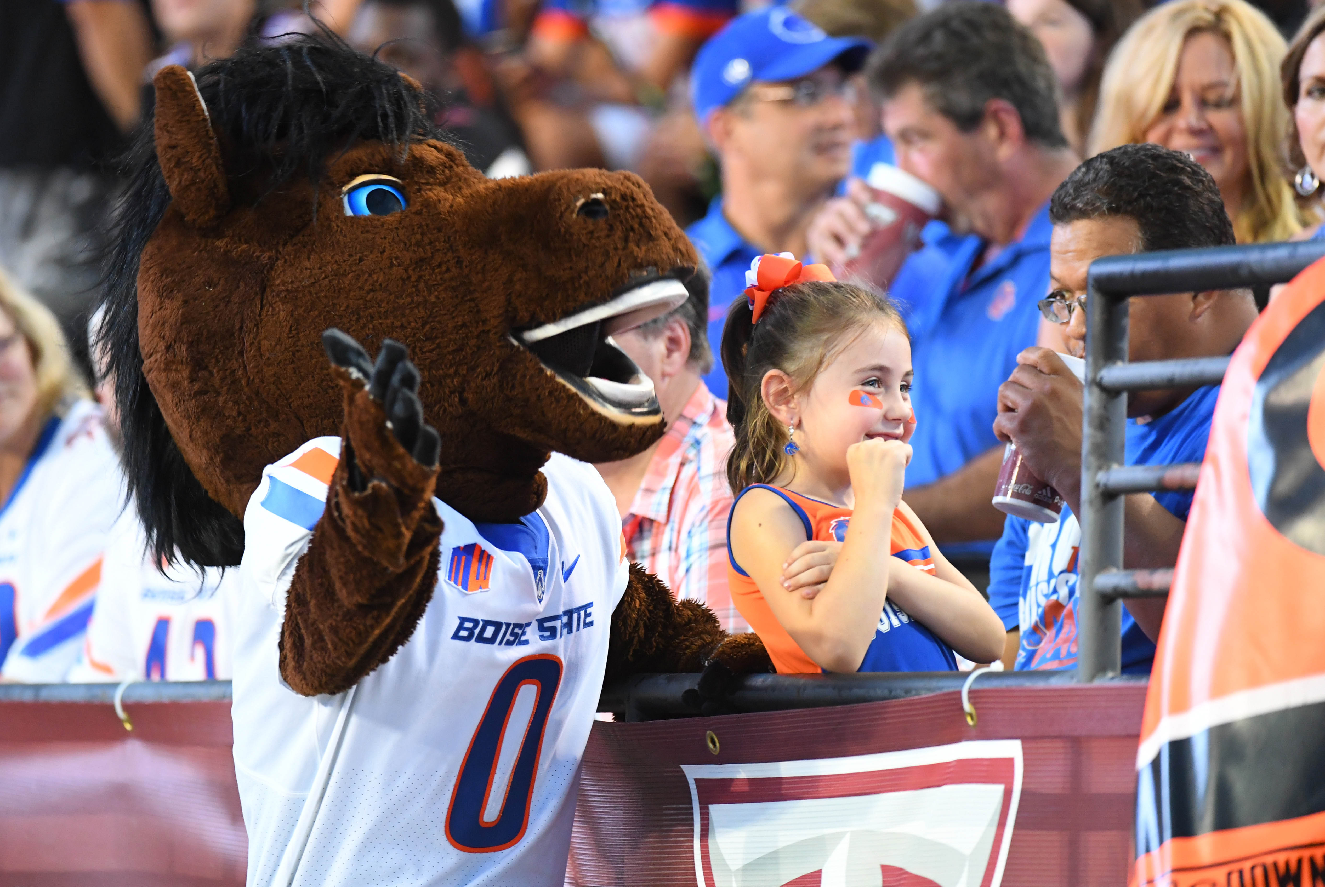 NCAA Football: Boise State at Troy