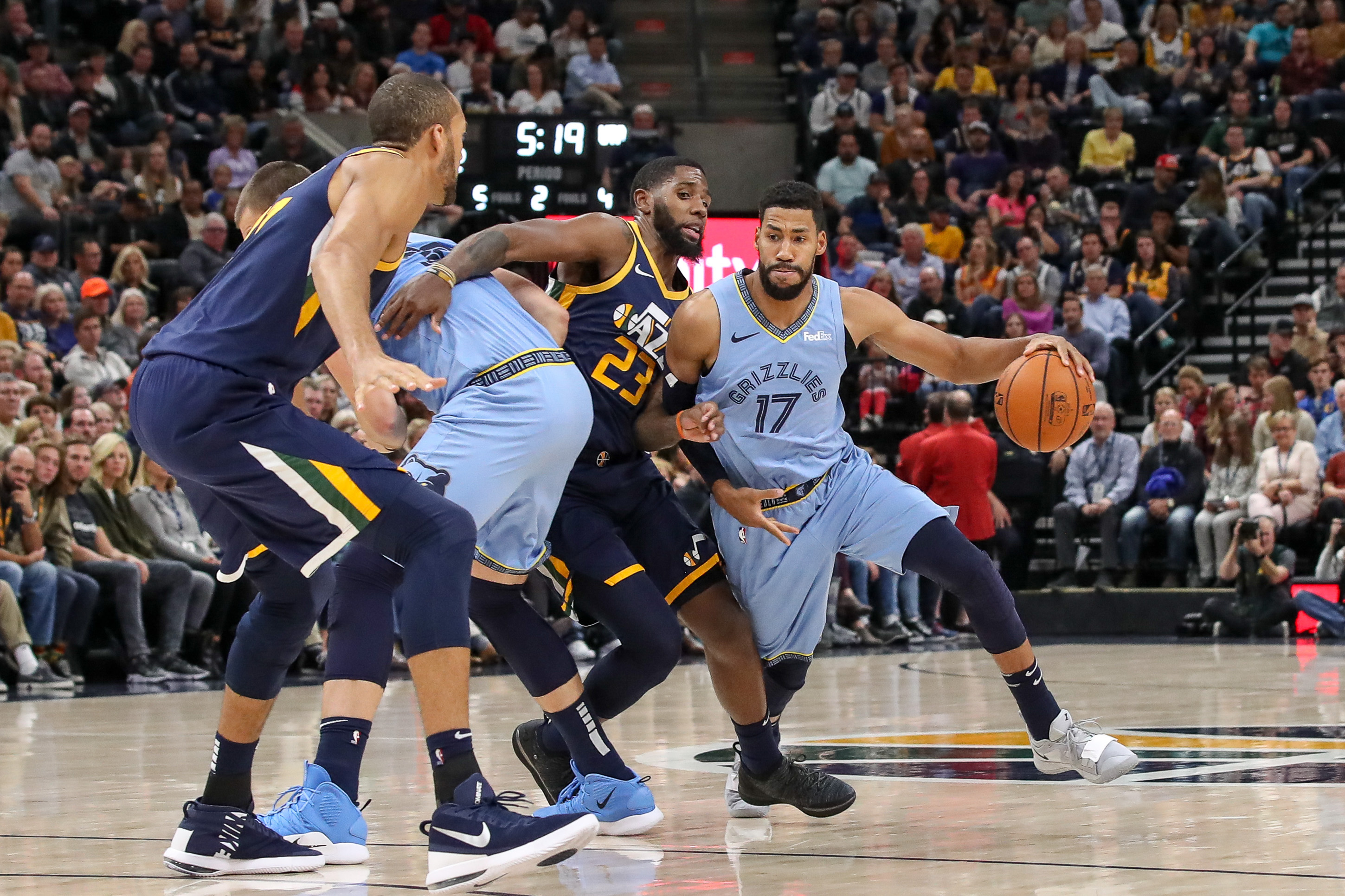 Memphis Grizzlies encroach onto state land—Utah Jazz suffer f985f5e95