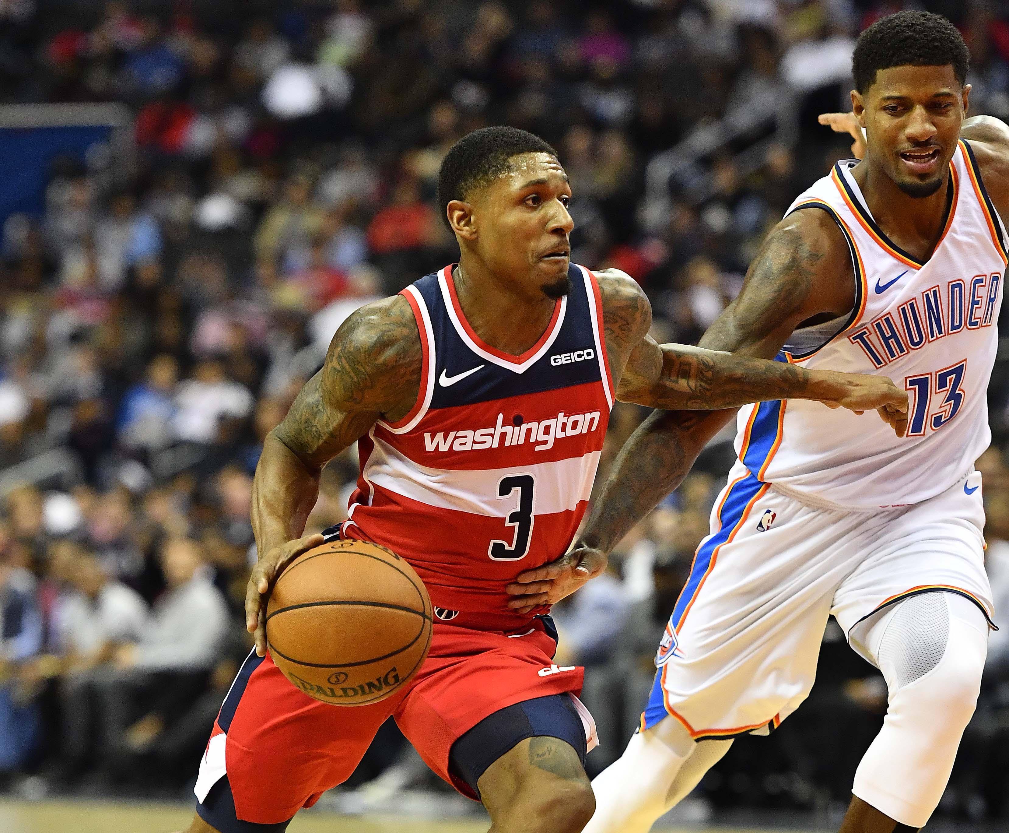 NBA: Oklahoma City Thunder at Washington Wizards