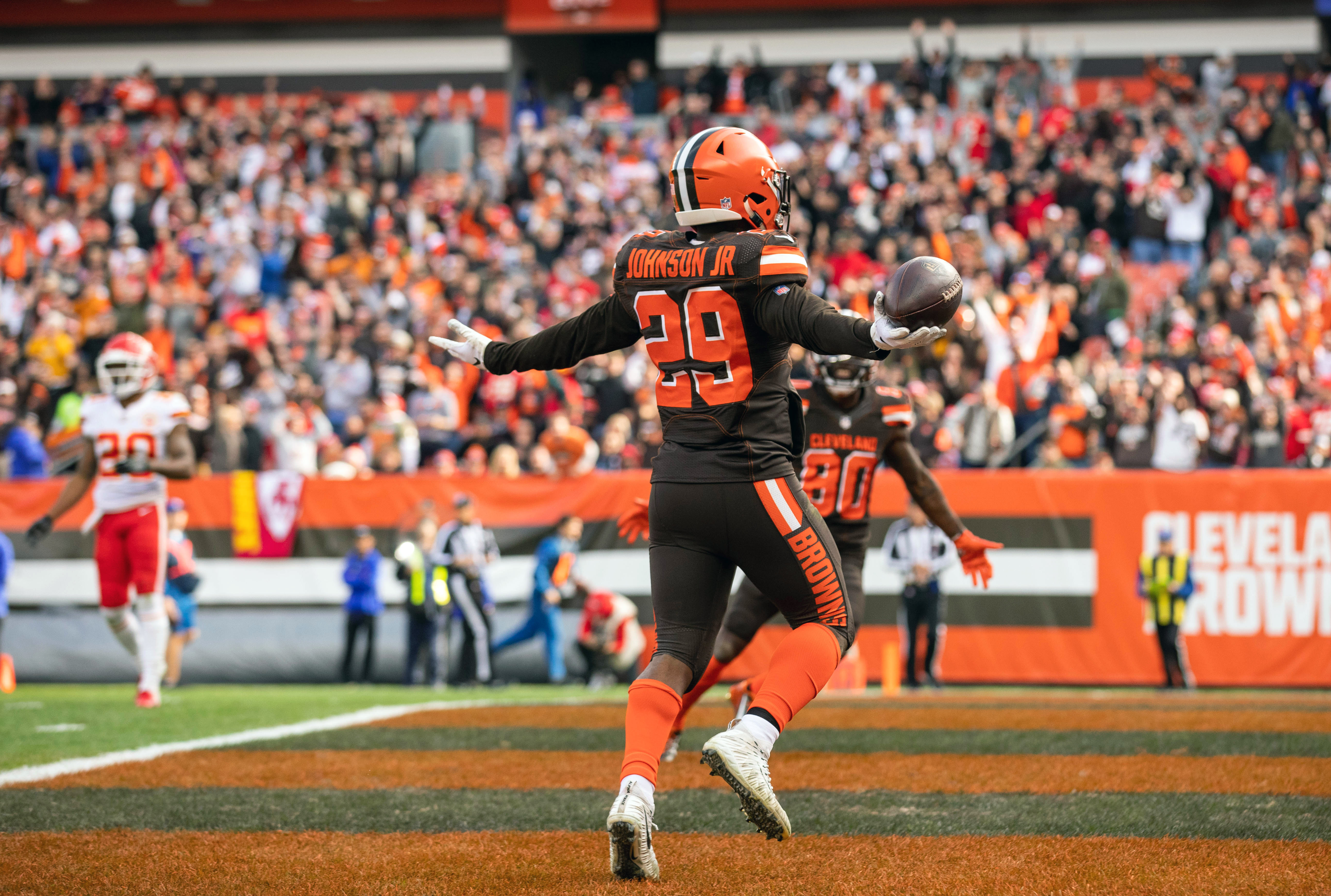 The Browns offense looked a lot better without Hue Jackson and Todd Haley