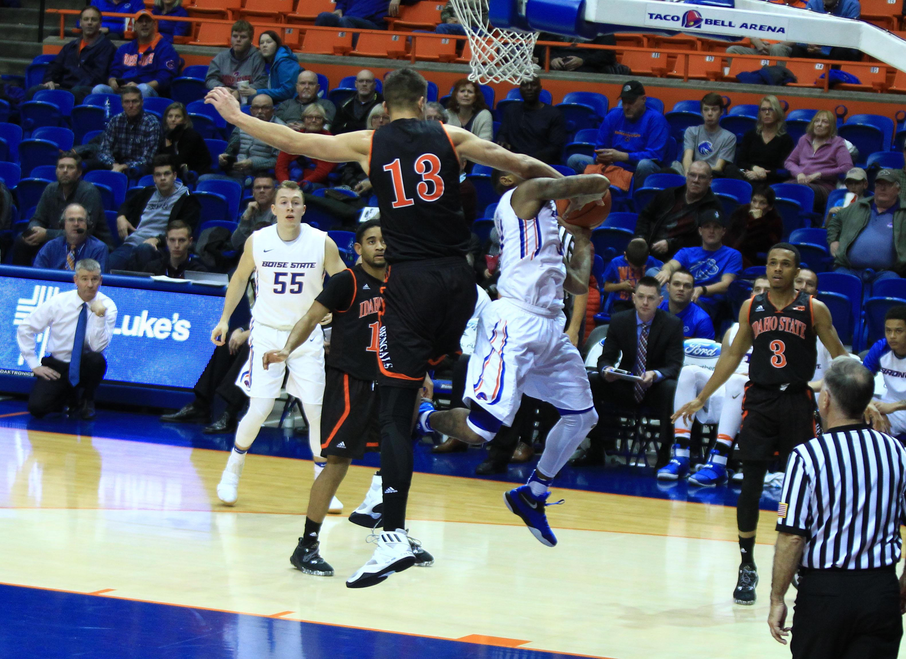 NCAA Basketball: Idaho State at Boise State