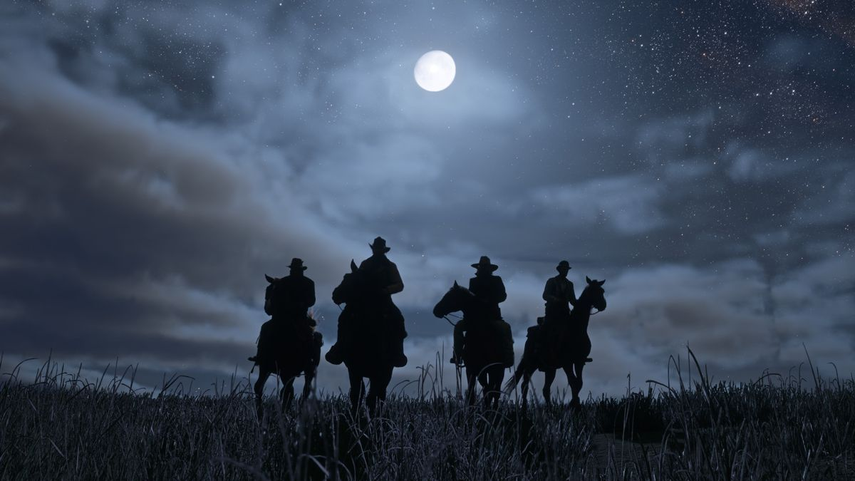Beyond the edge of the map in Red Dead Redemption 2, things get wild