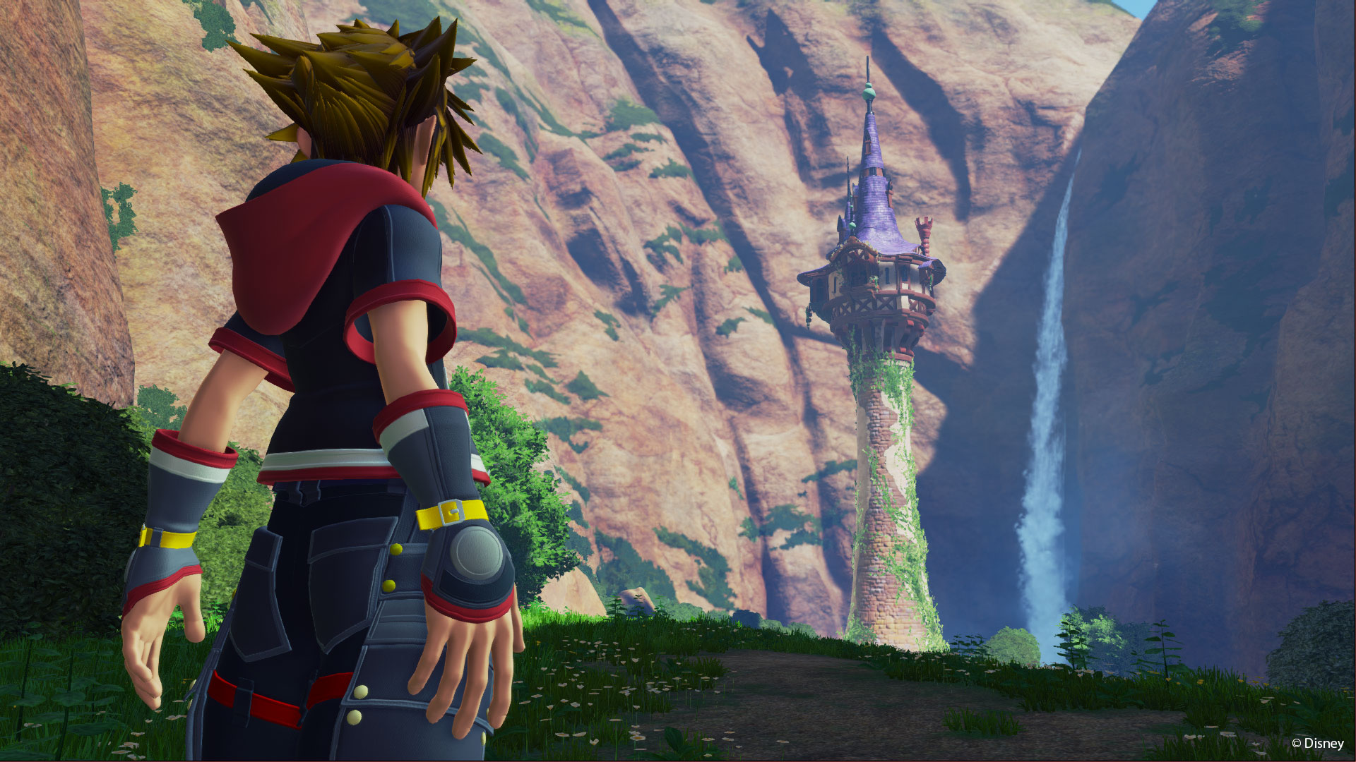 New Kingdom Hearts  Trailer Brings Tangleds Rapunzel And Flynn Rider Into Action