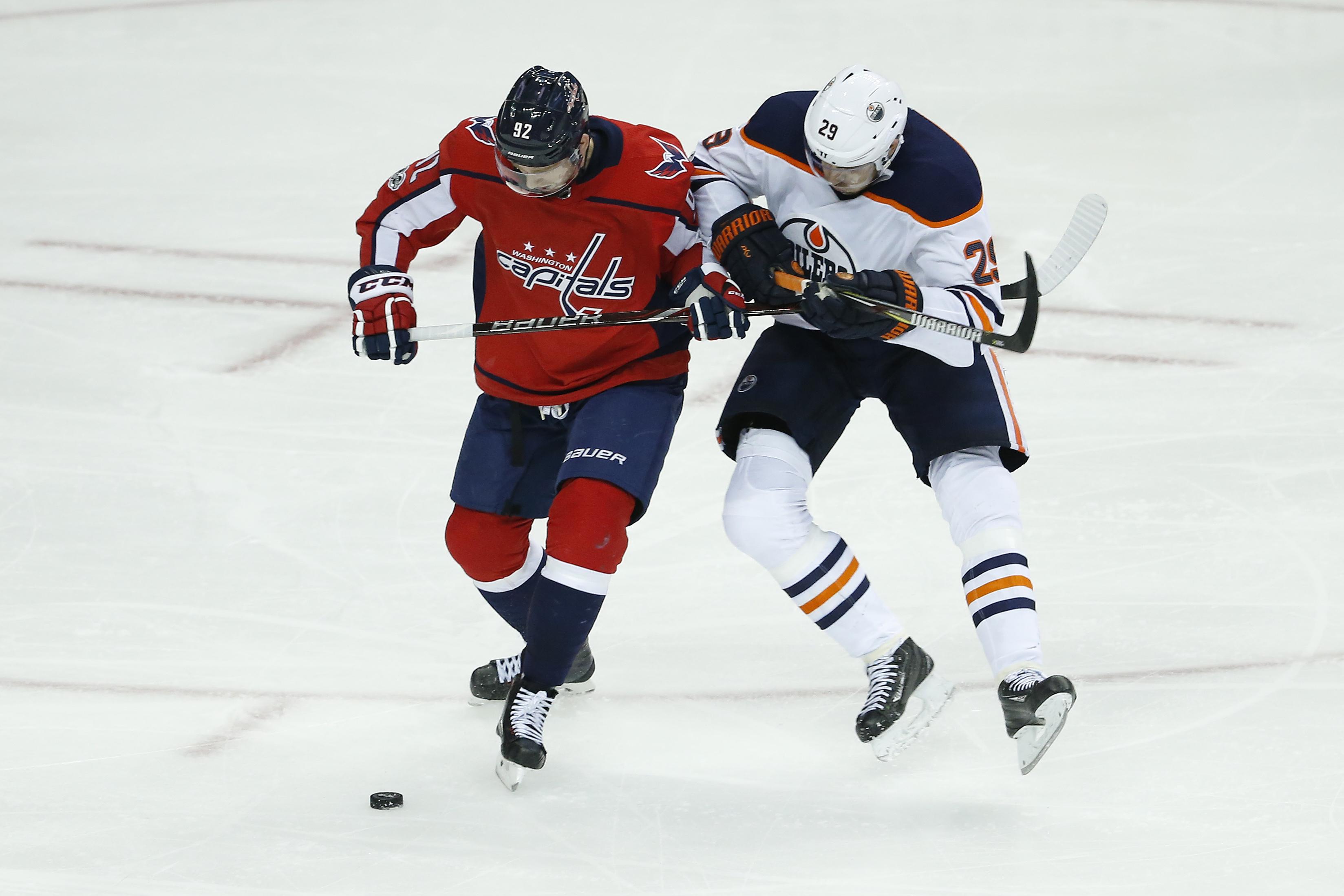 Game 13 of 82  Capitals vs. Oilers d8947bd5a953