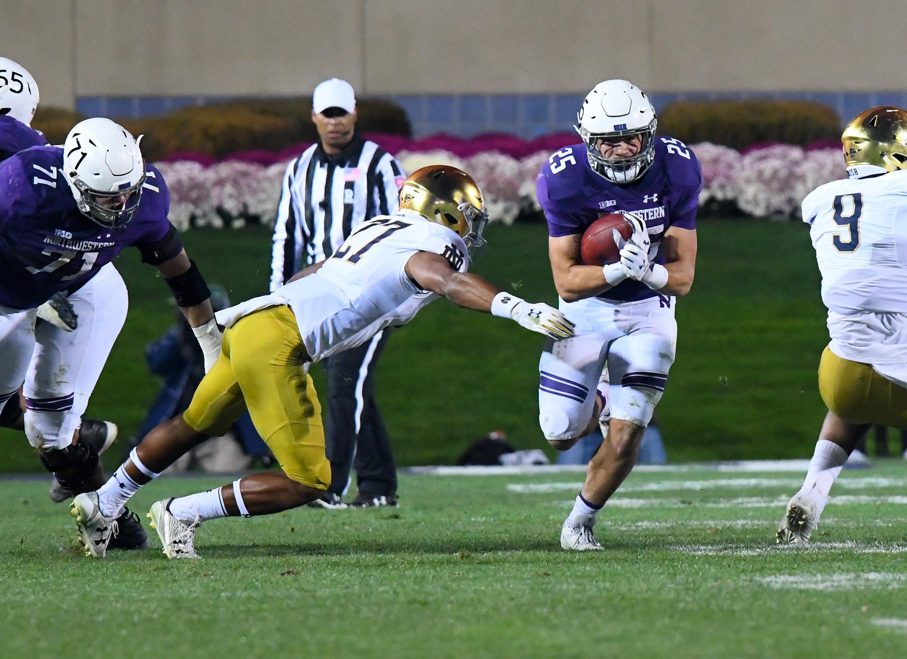 NCAA Football: Notre Dame at Northwestern