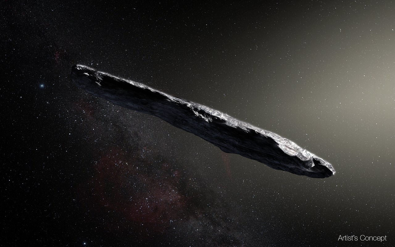 Oumuamua is the only interstellar object we've ever seen in our solar system. What is it?