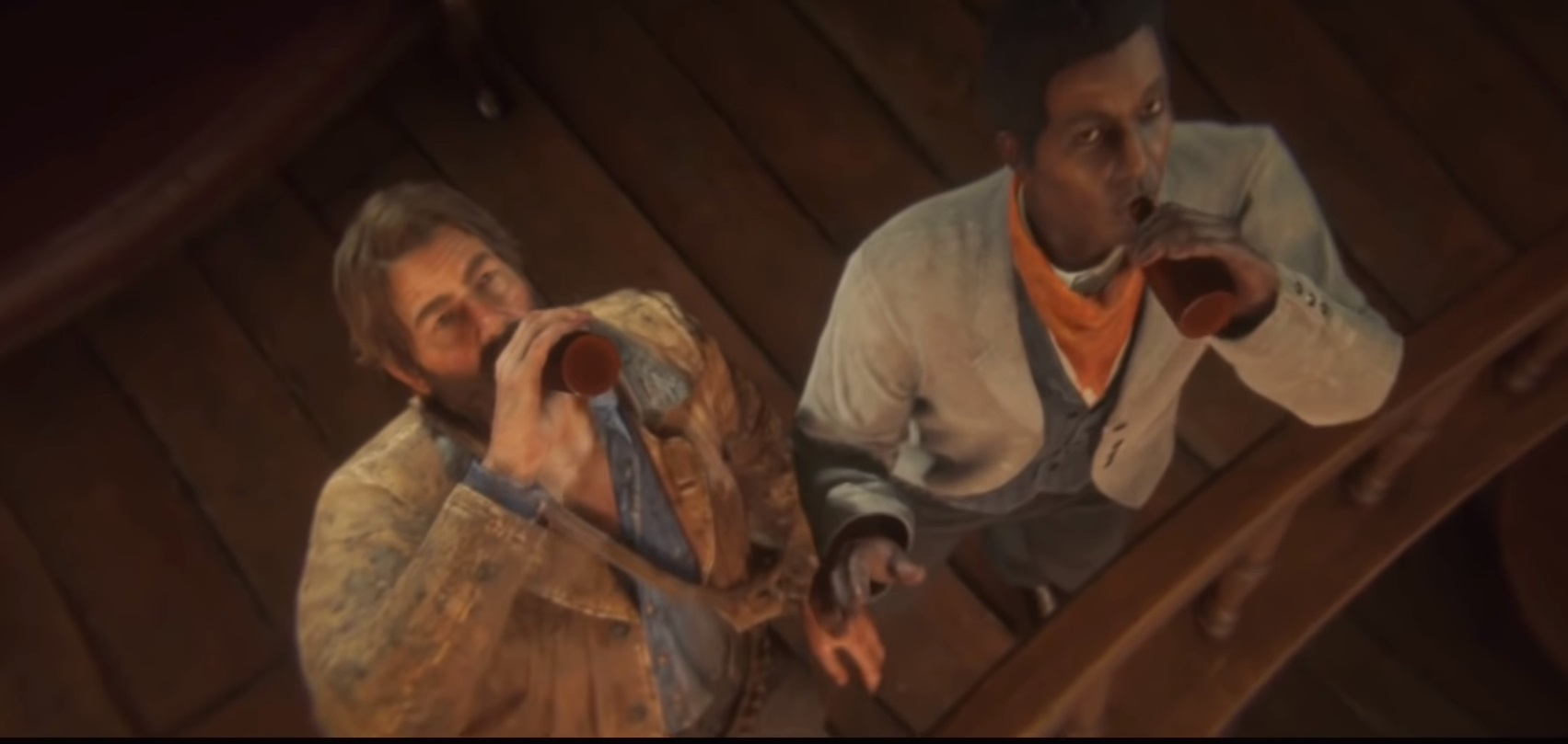 Red Dead Redemption 2 takes a serious look at sad, macho booze culture