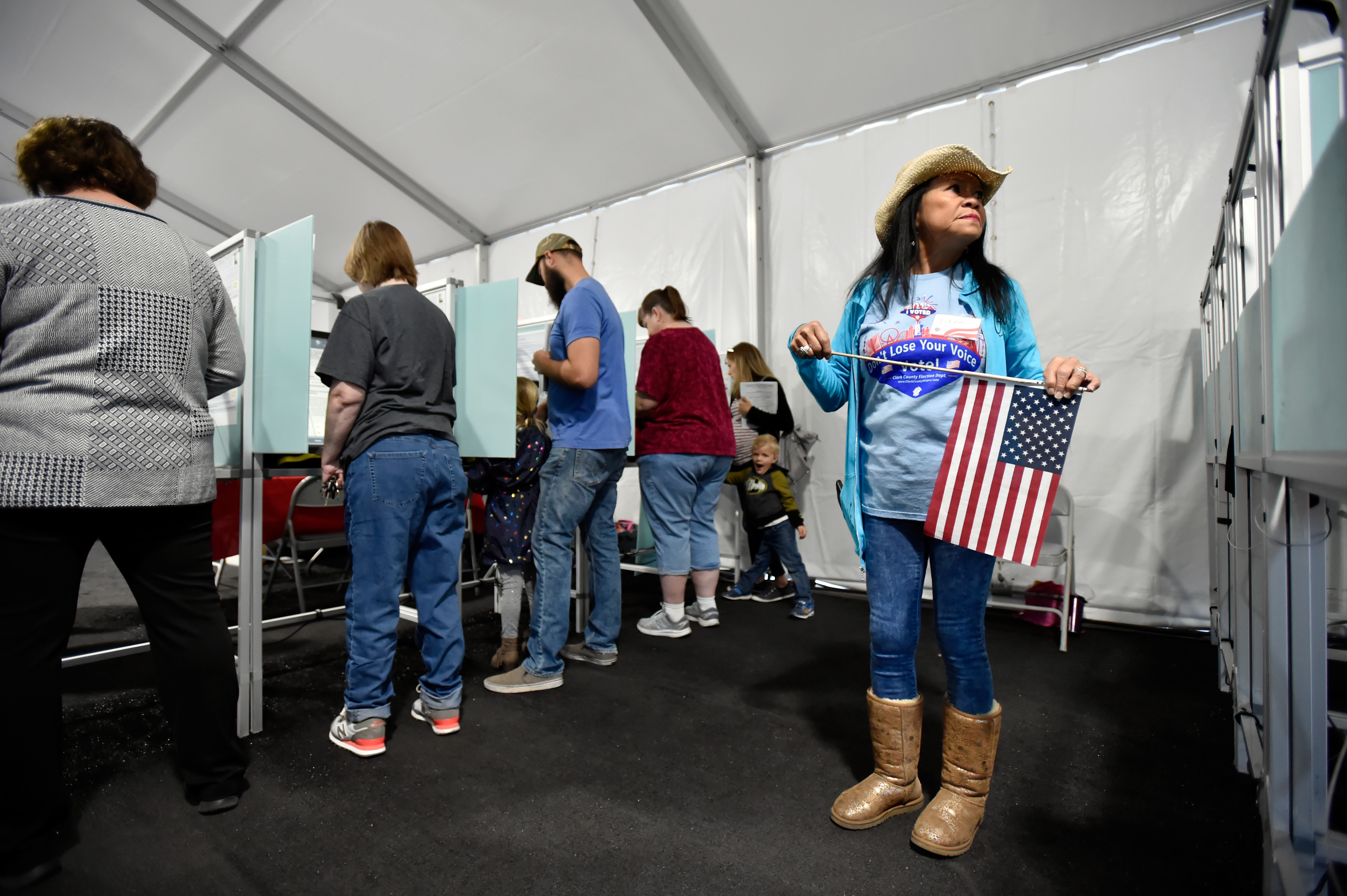 Early numbers suggest voter turnout soared in the 2018 midterms