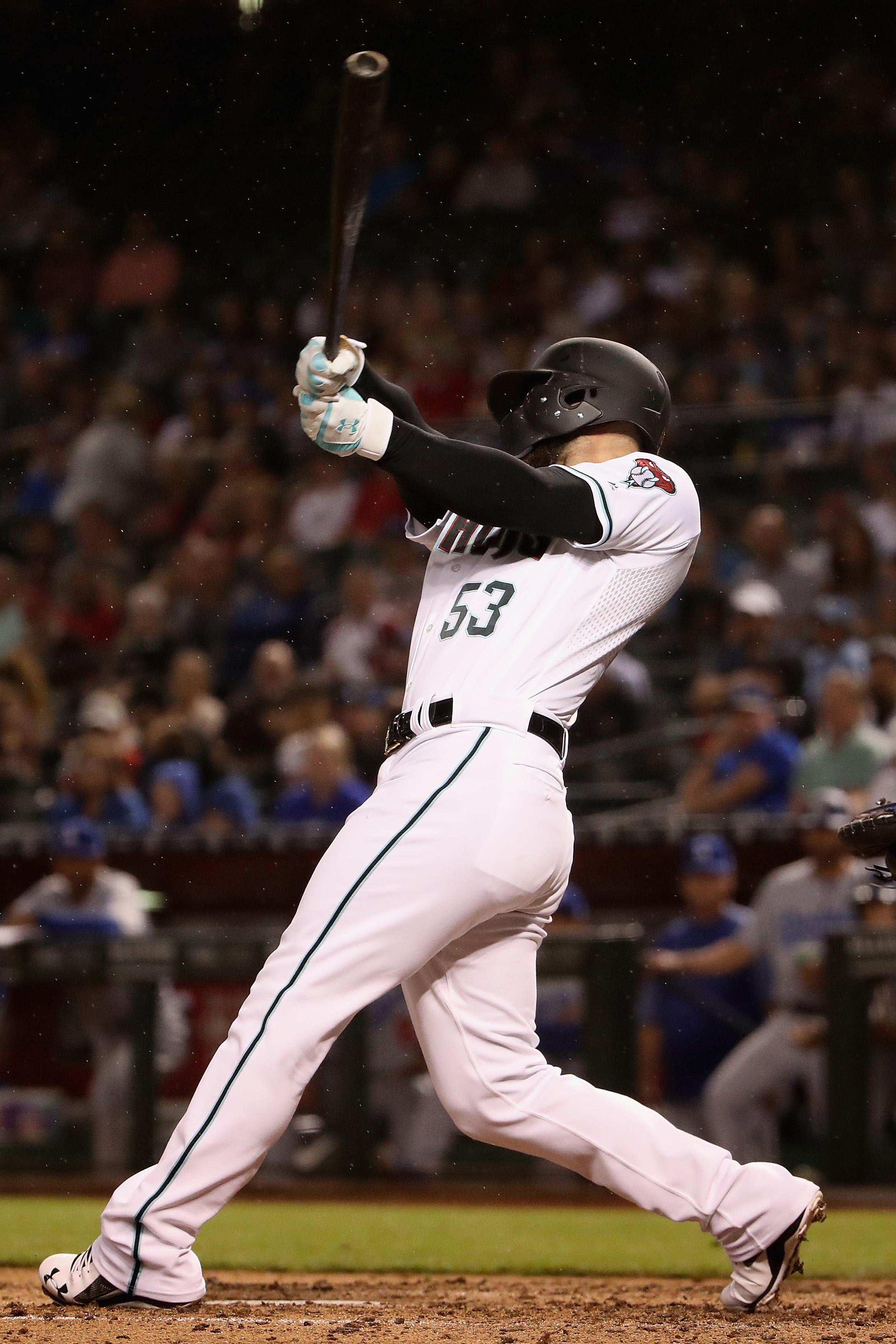 Christian Walker hits home run against Dodgers.