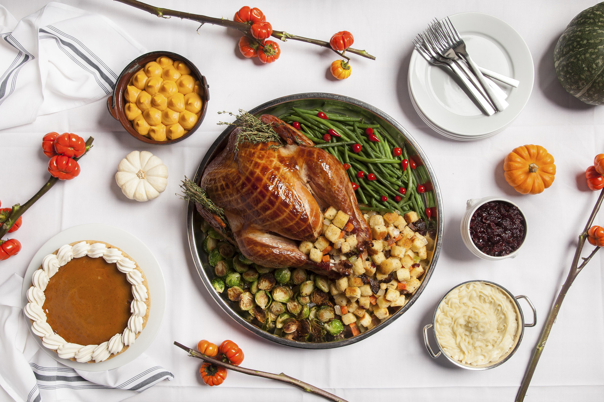 Thanksgiving dinner at Andre's Bistro & Bar