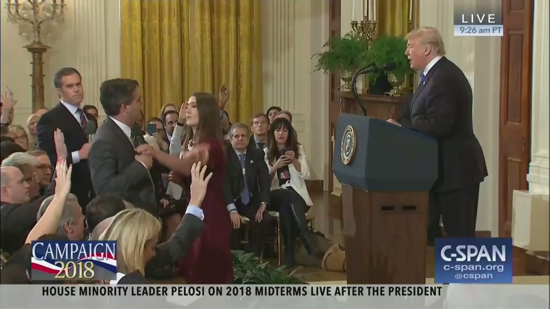 White House press secretary uses fake Infowars video to justify banning CNN reporter