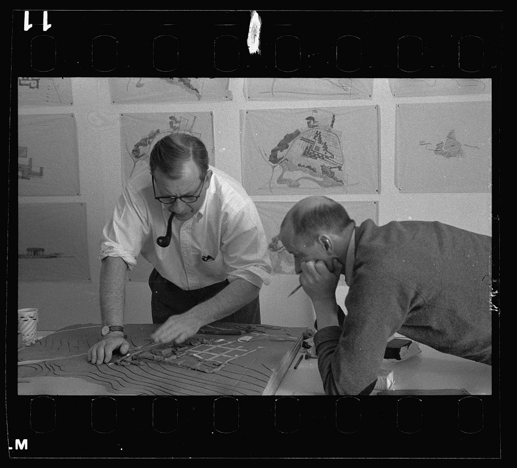 Why Eero Saarinen's '50s office was a breeding ground for modernist design