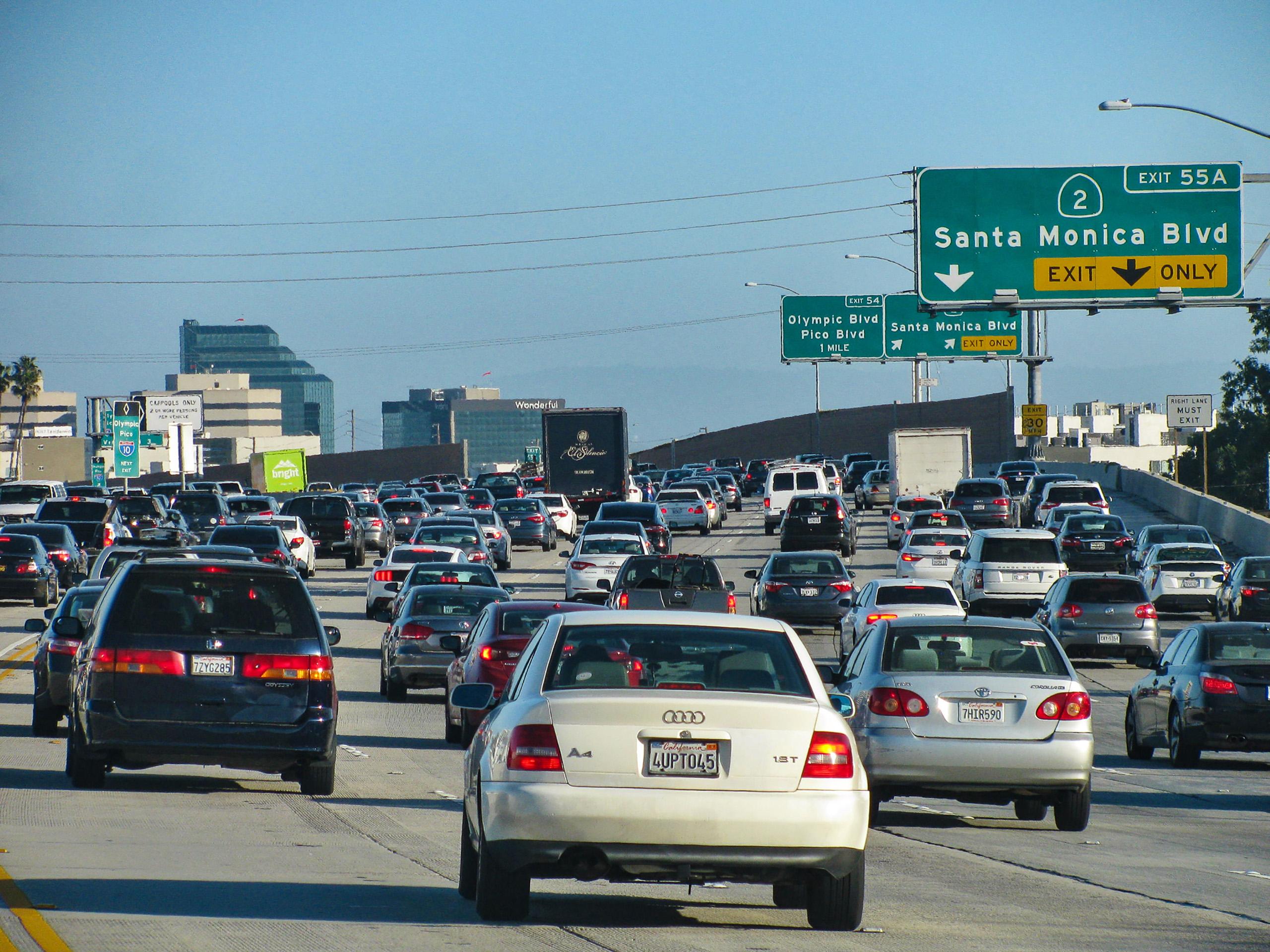 Gridlock in LA