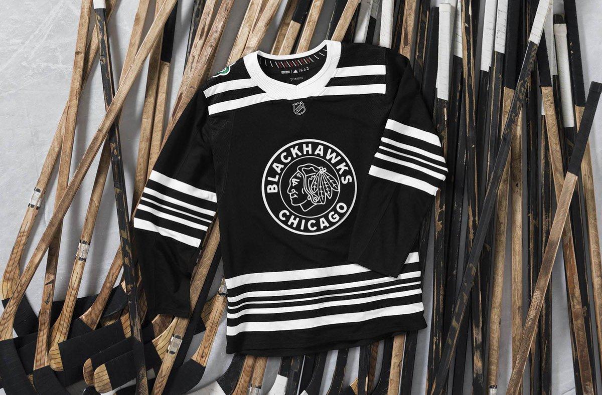 3ac9cb6bf Blackhawks reveal 2019 Winter Classic jerseys