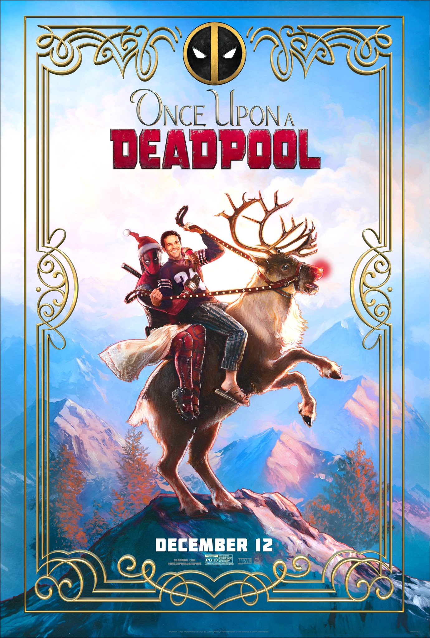 1a72aed6dc8a Deadpool 2 s PG-13 cut Once Upon a Deadpool borrows inspiration from ...