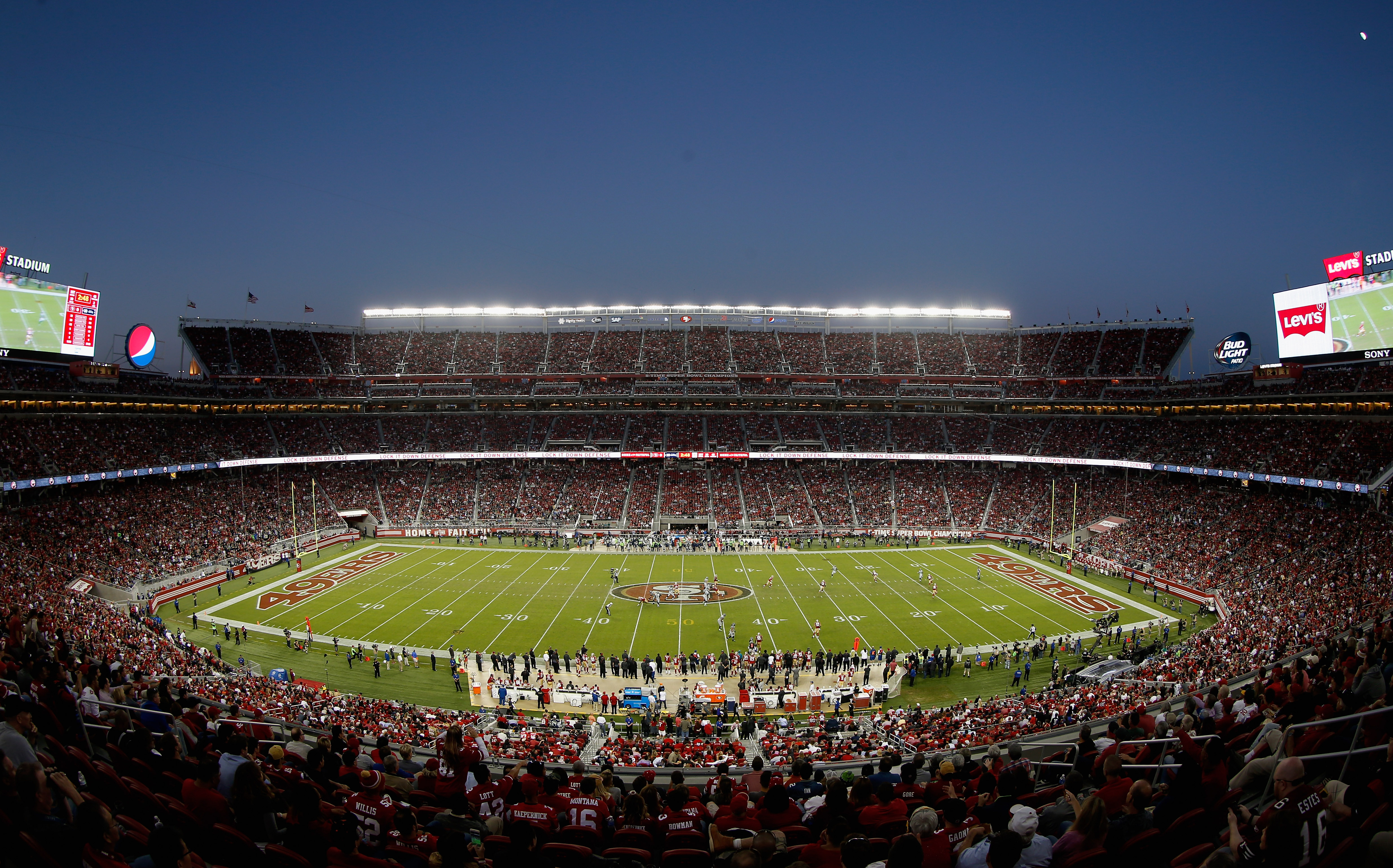 8f34505d 49ers vs. Giants news: NFL officials monitoring air quality in ...