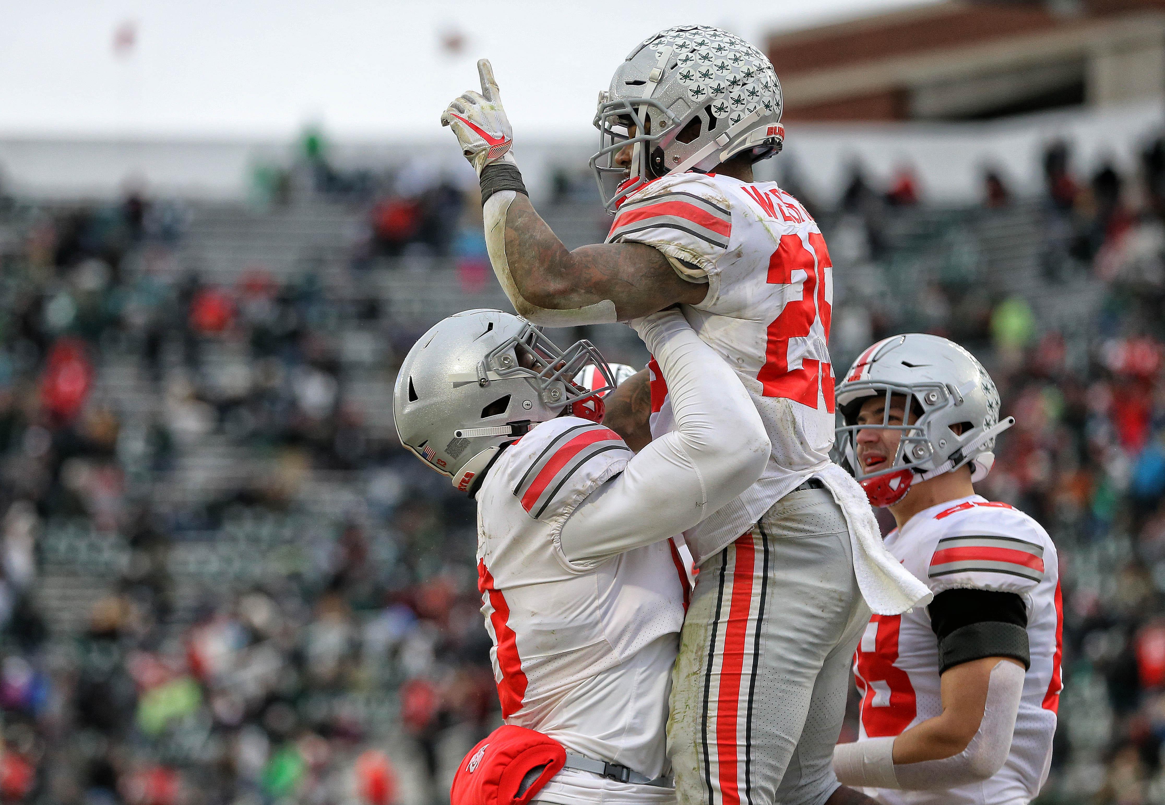 NCAA Football: Ohio State at Michigan State