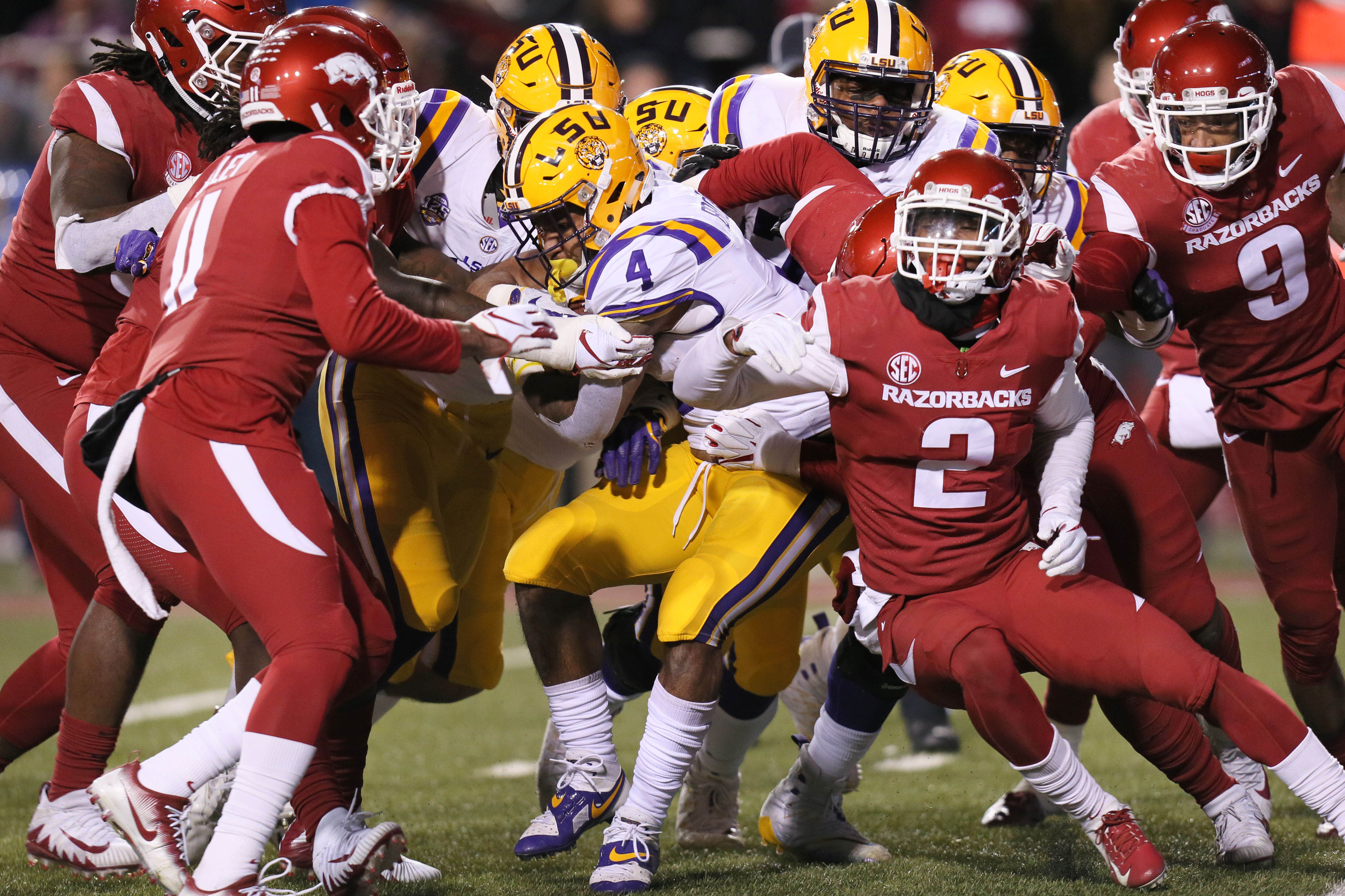 Initial Impressions: LSU 24, Arkansas 17 - And The Valley Shook