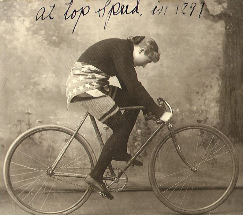 Tillie Anderson, 1897