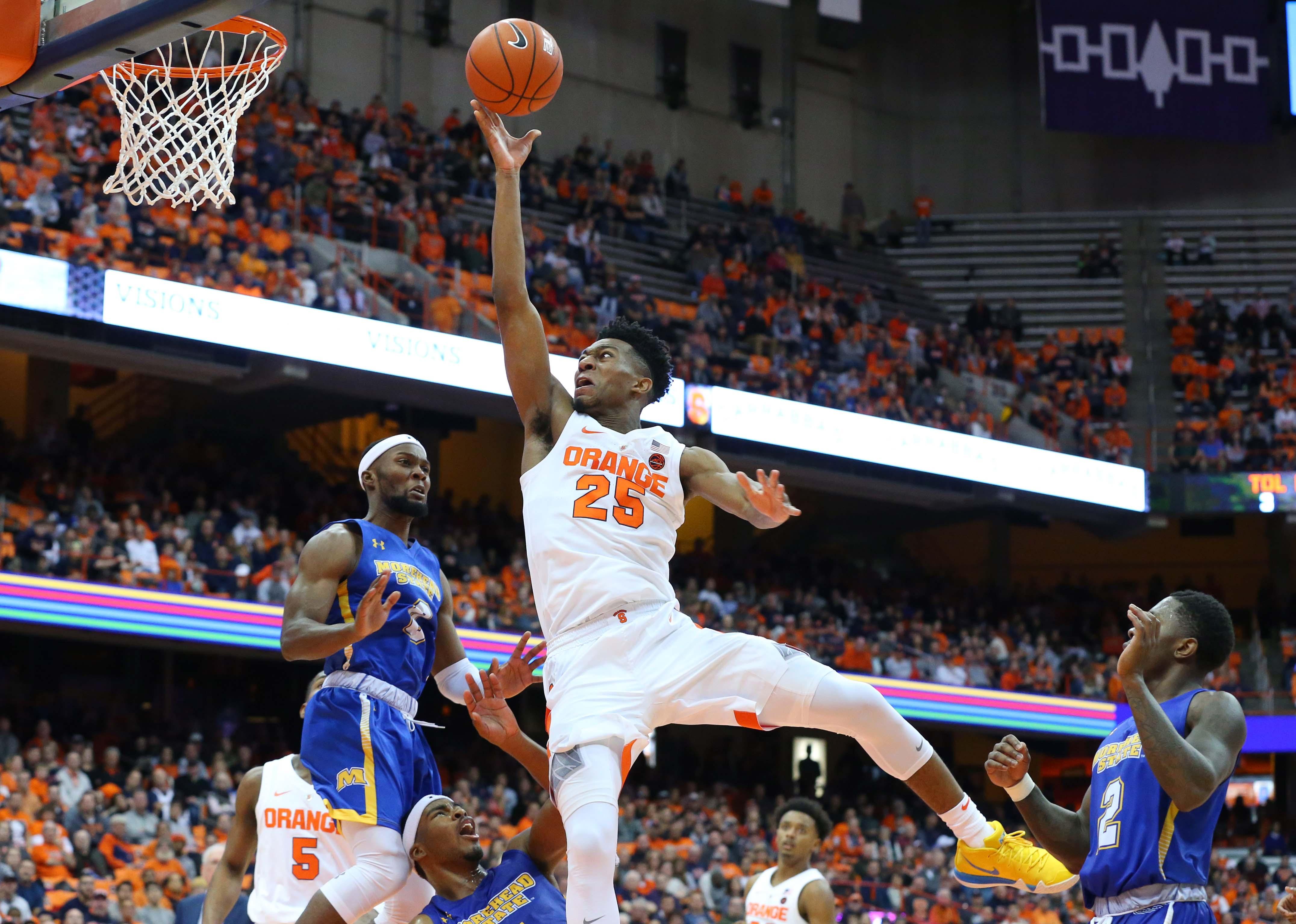 NCAA Basketball: Morehead State at Syracuse