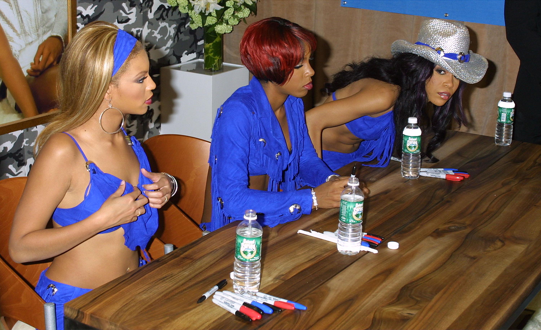 Destiny's Child Meet Their Fans in New York