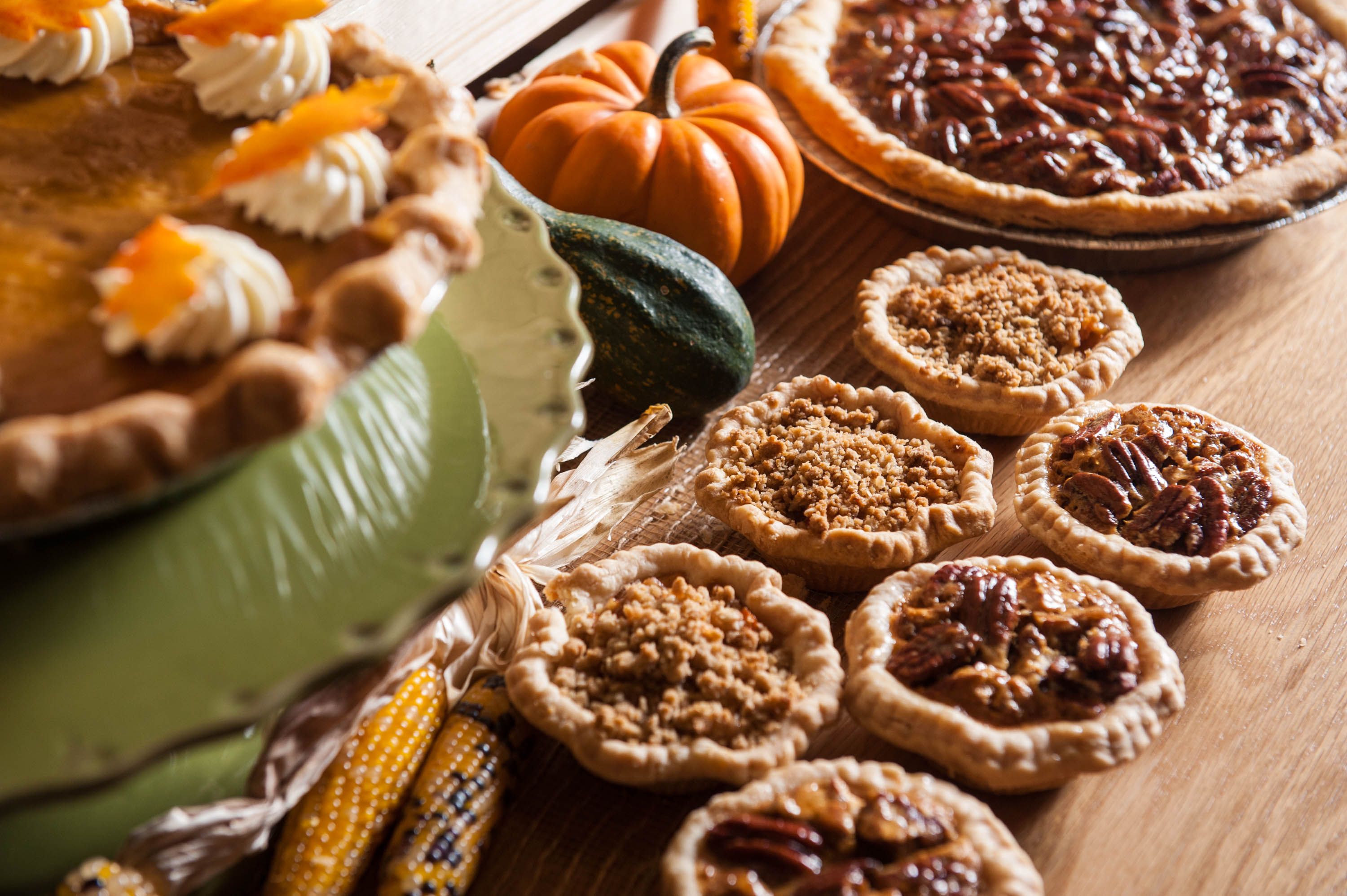Pies and mini pies from Bar Boulud