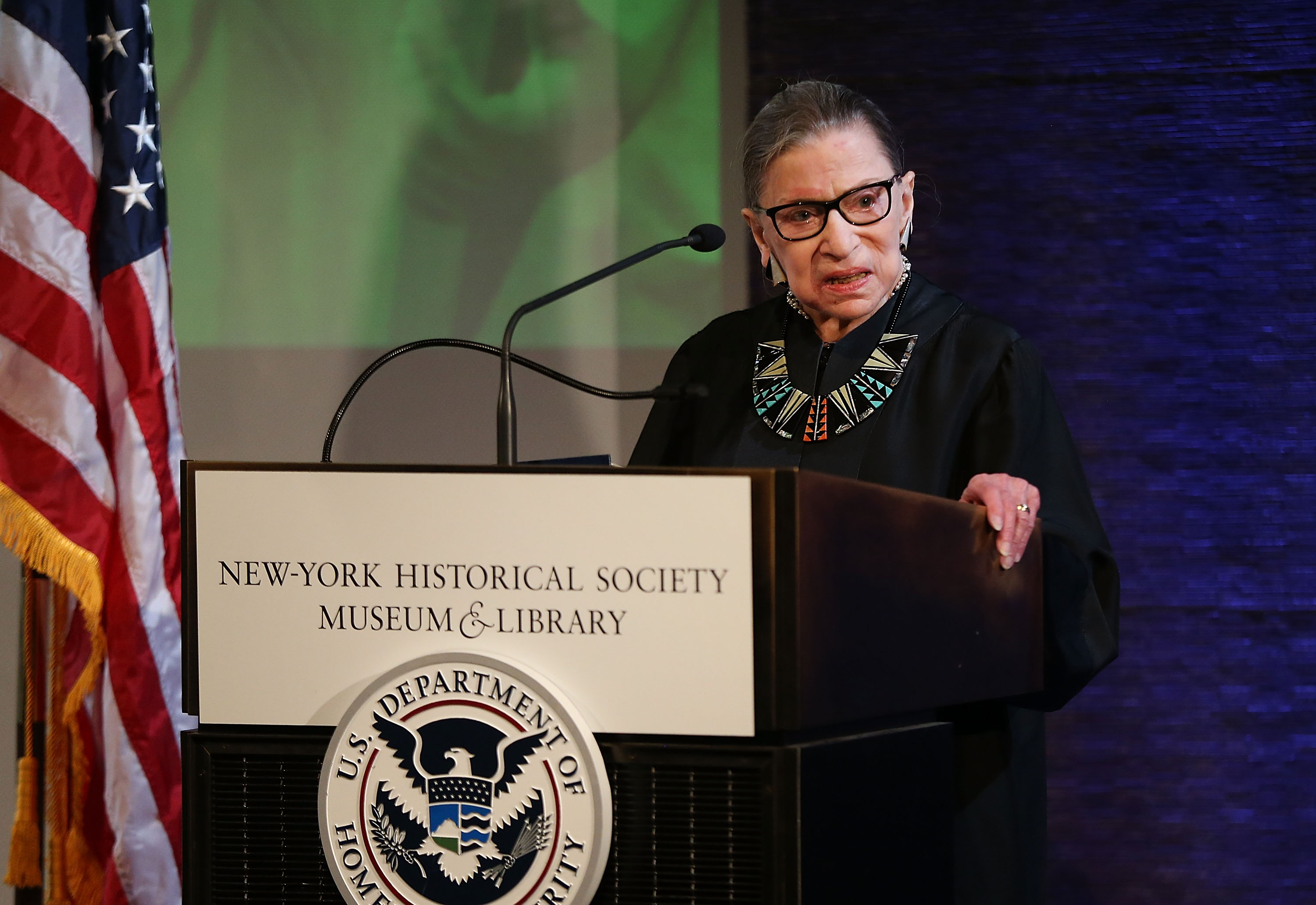 Ruth Bader Ginsburg's incredible ability to bounce back