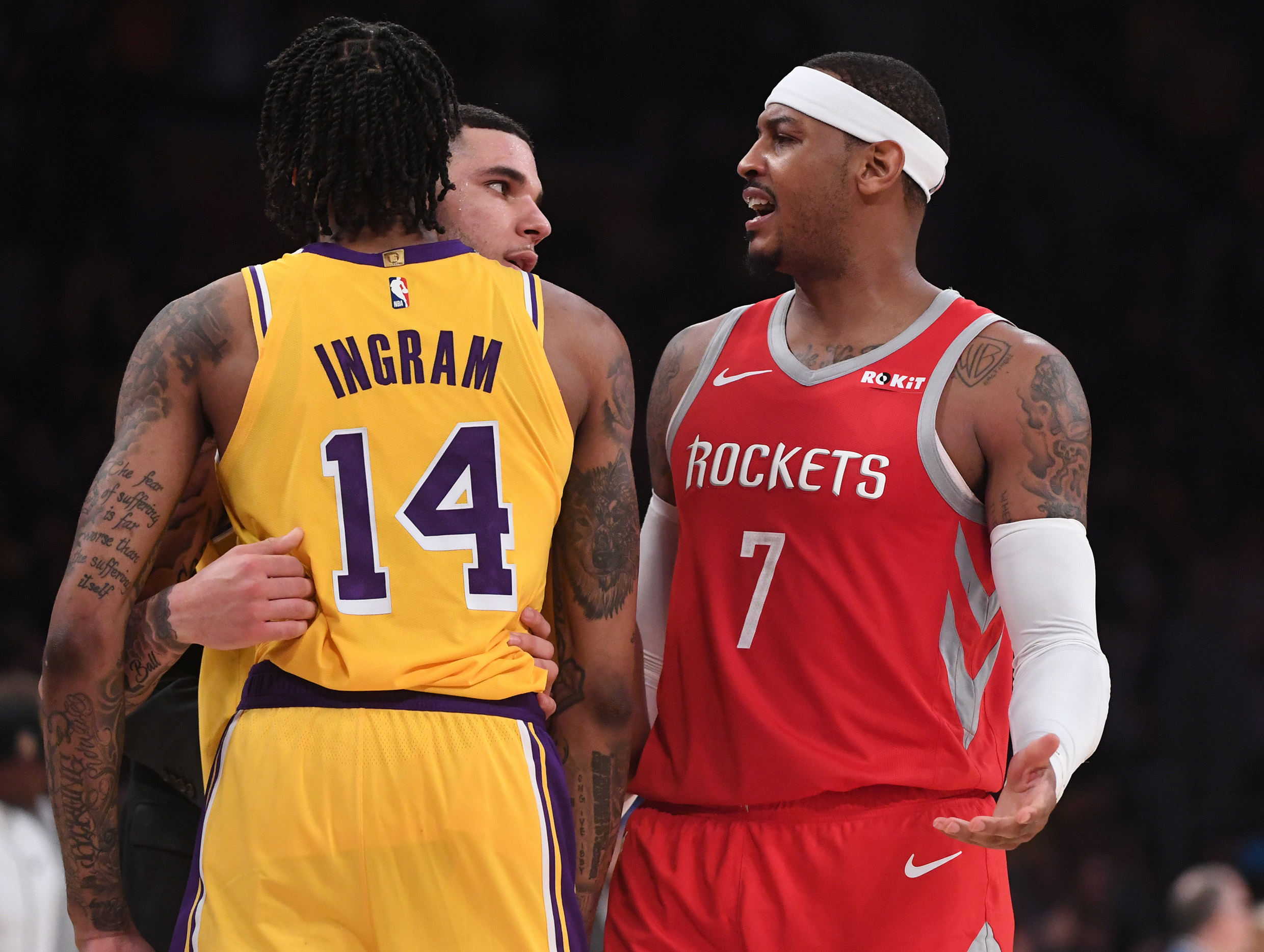 a77854138fc6 NBA Free Agent Rumors  Lakers are not interested in Carmelo Anthony ...