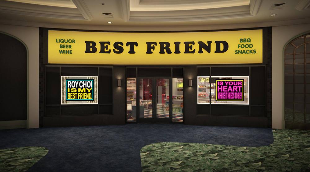 Roy Choi Reveals Best Friend Debut Date on a Billboard