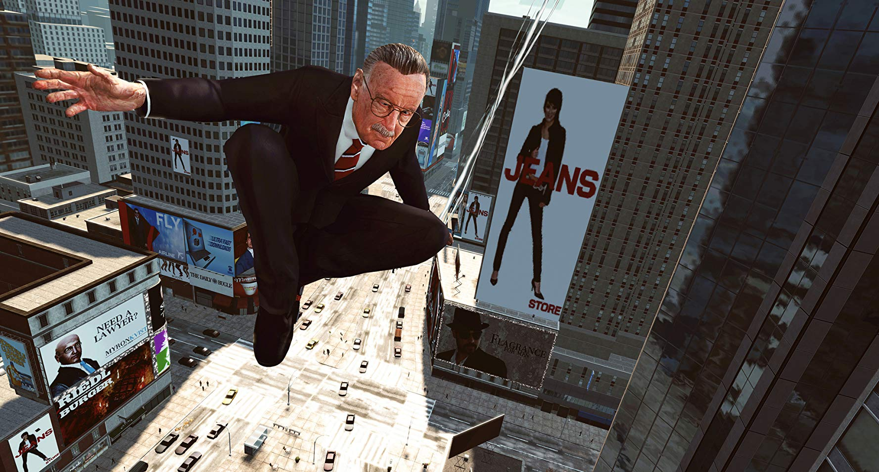 Stan Lee in The Amazing Spider-Man video game