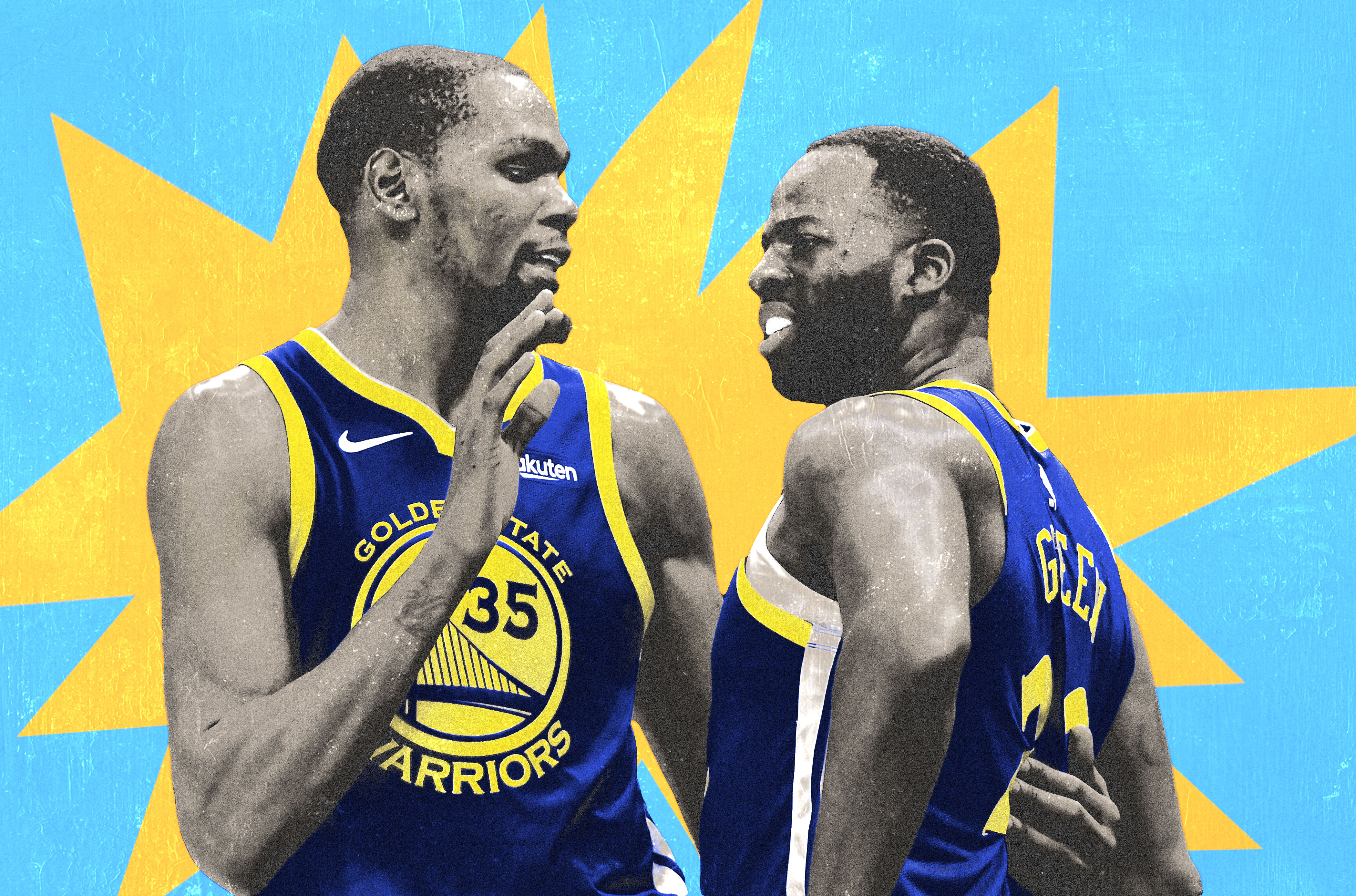 712822d3477b The Kevin Durant–Draymond Green Argument Represents the Warriors  Darkest  Timeline for this Summer