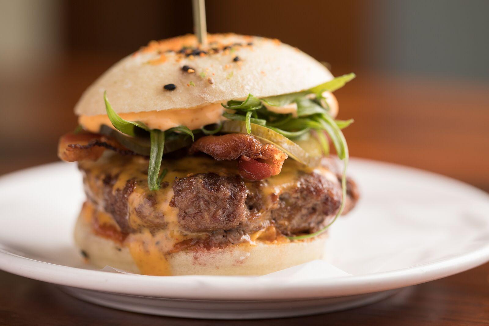 The Shojonator burger