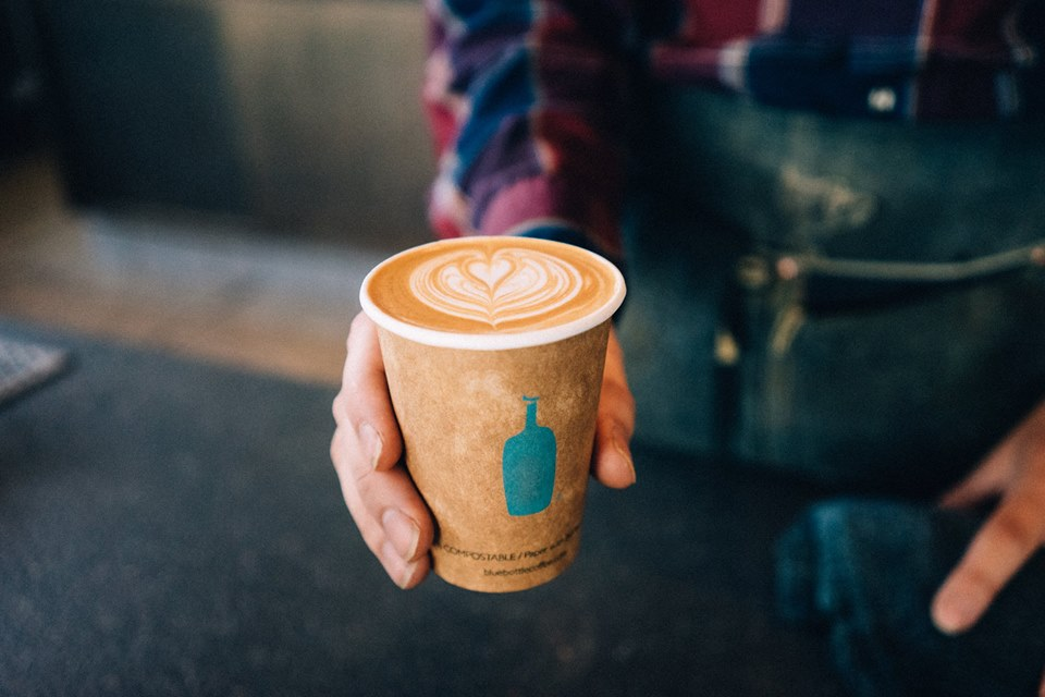 Coffee Giant Blue Bottle Is Coming to San Diego