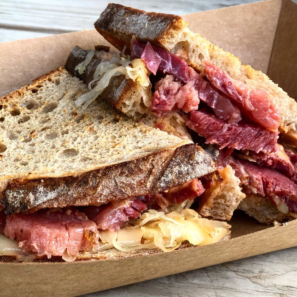 The pastrami sandwich at Otherside Deli