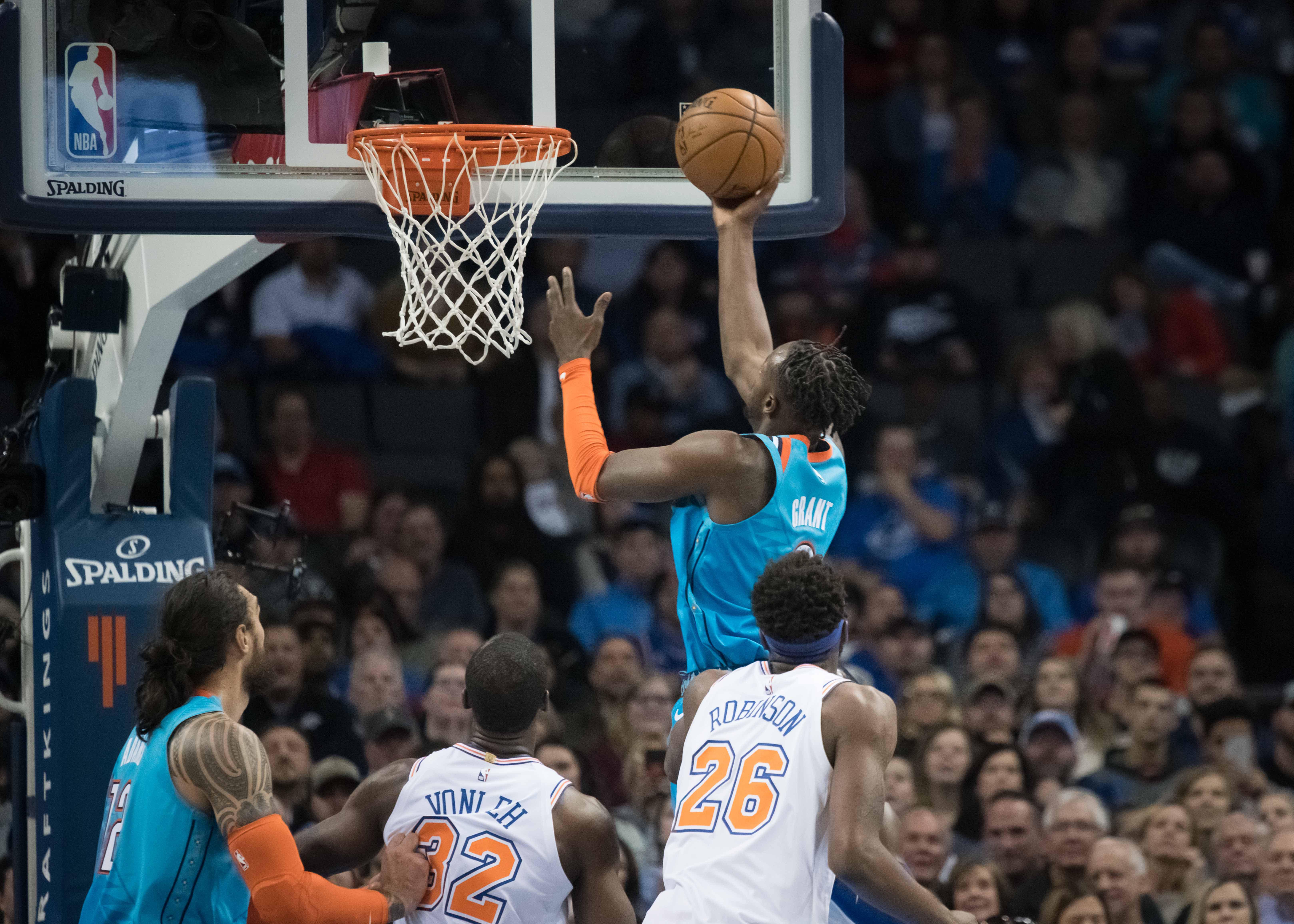 NBA: New York Knicks at Oklahoma City Thunder