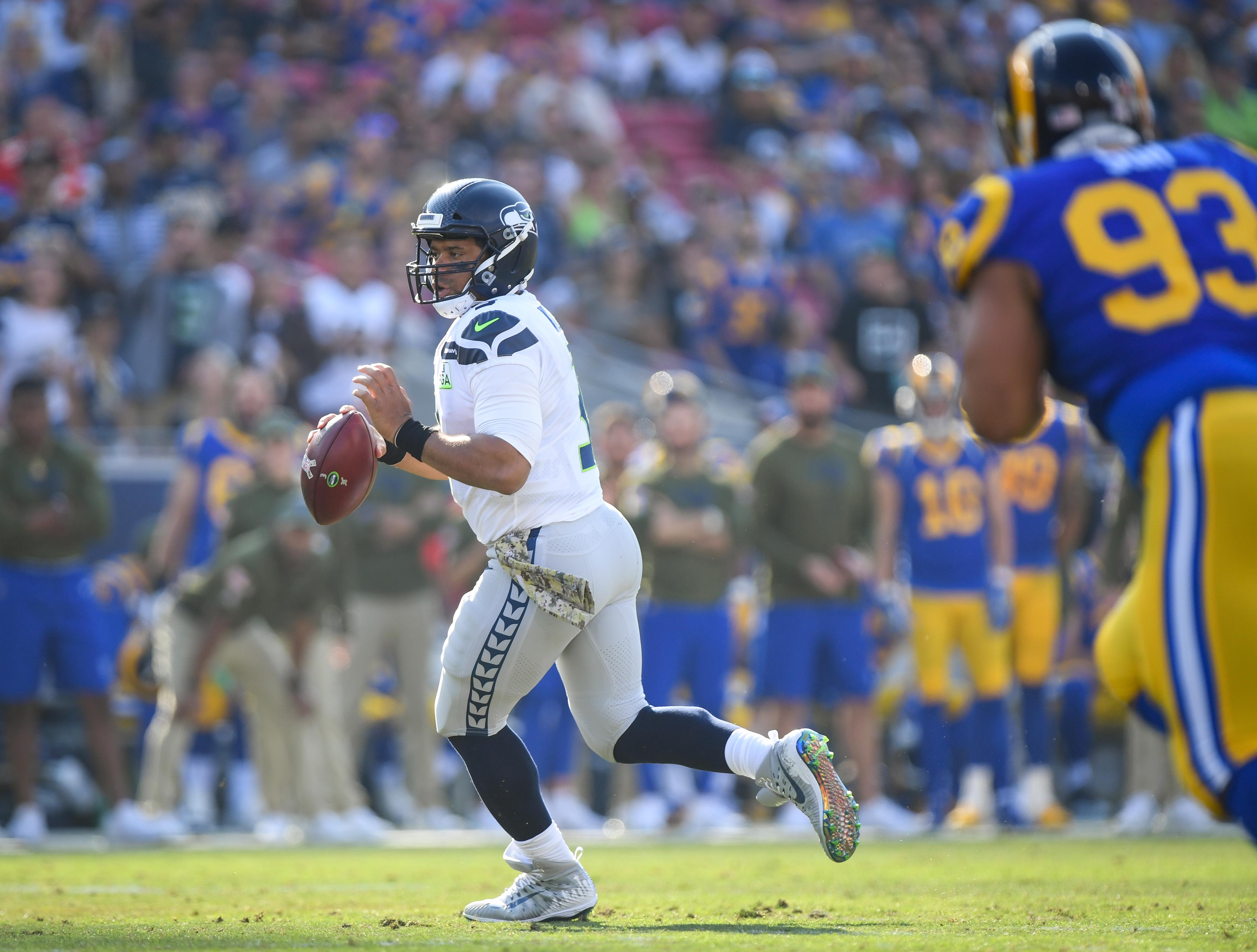 Seattle Seahawks v Los Angeles Rams