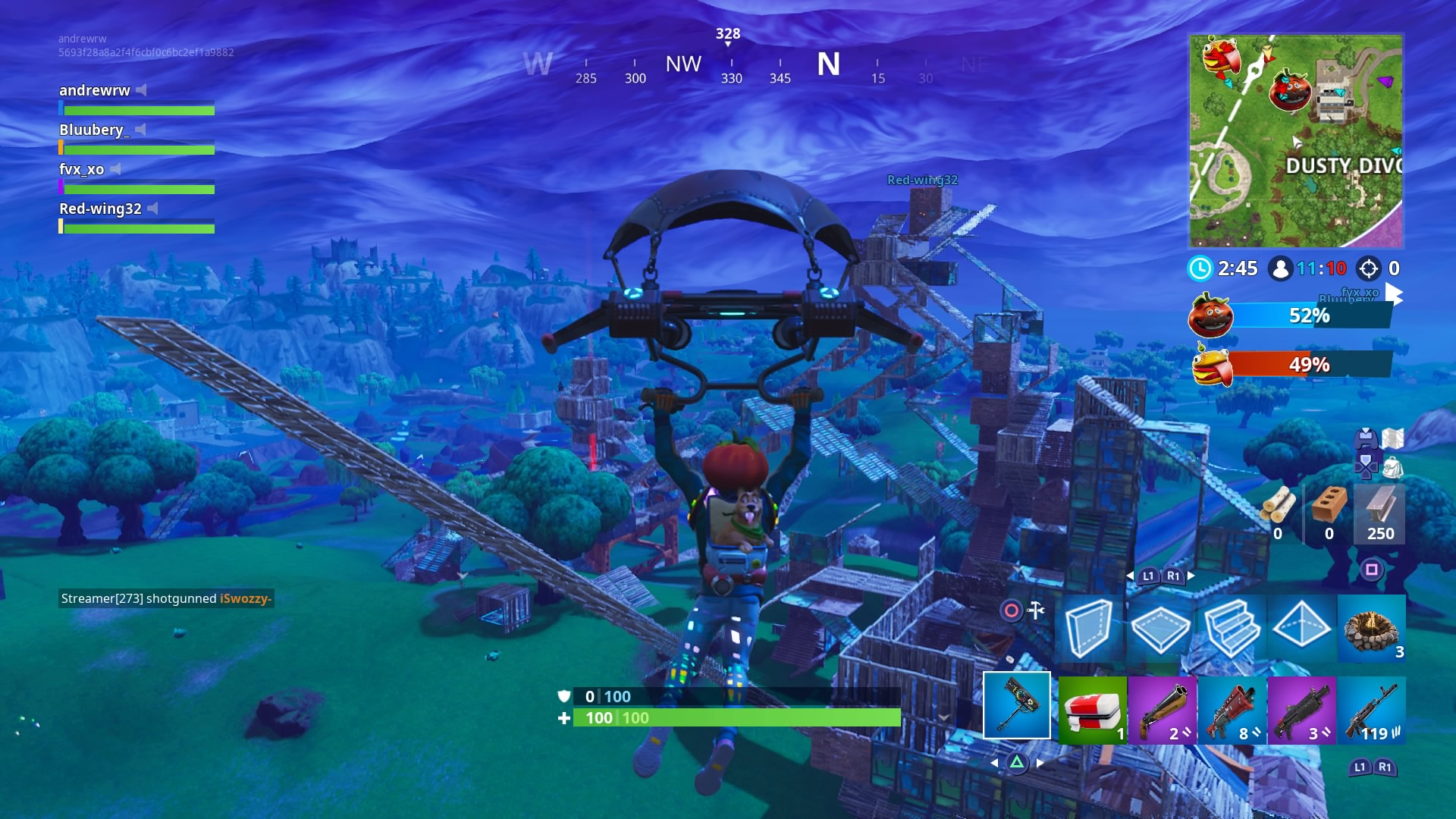 fortnite pc game download in parts