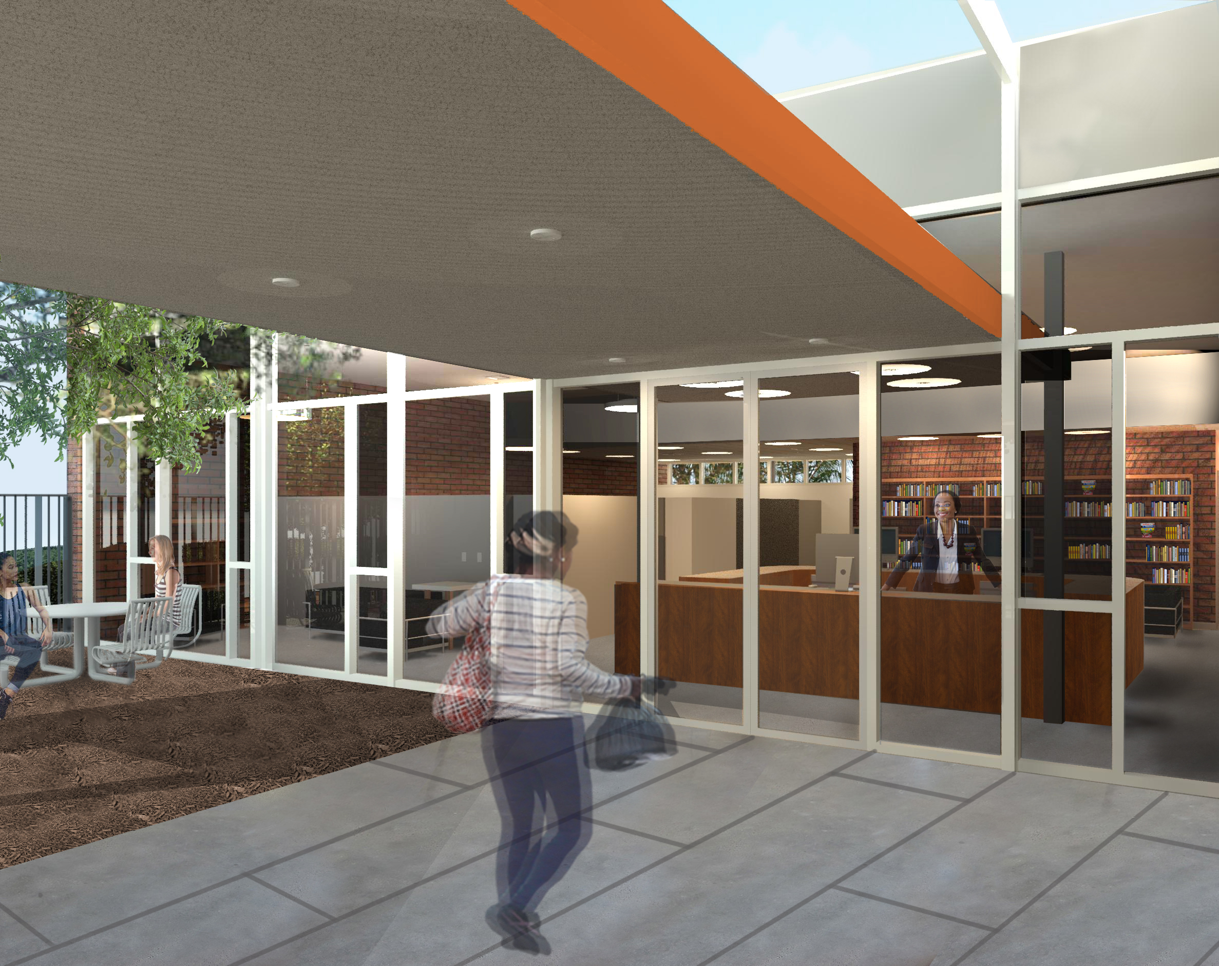 Empty Hollywood library will be converted to women's shelter