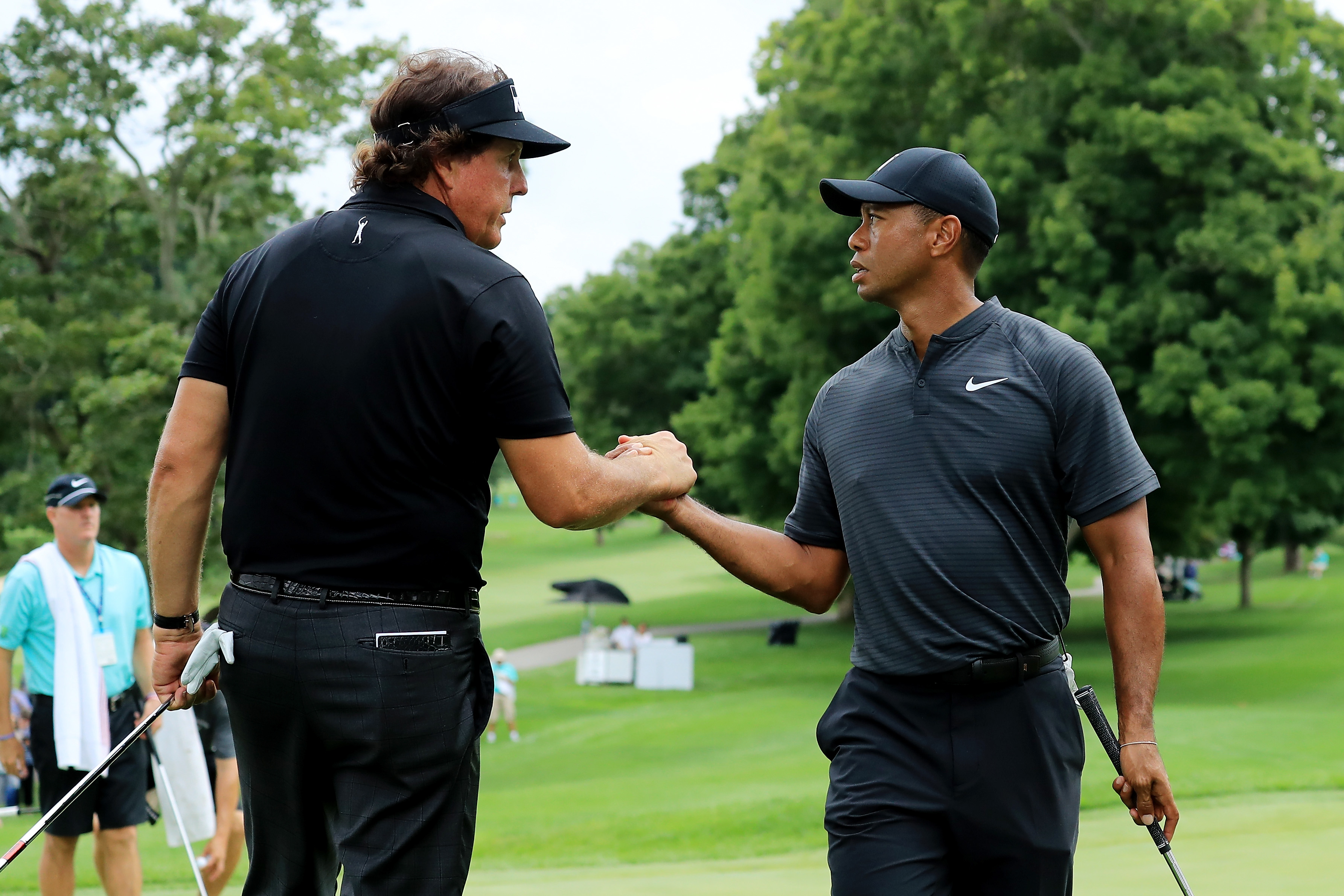 Tiger Woods, Phil Mickelson, and the hype machine for their Match came to HBO