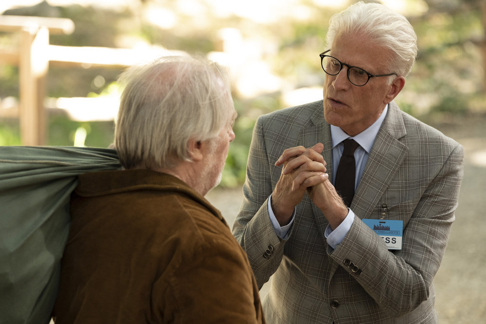 The Good Place finally went full Lost