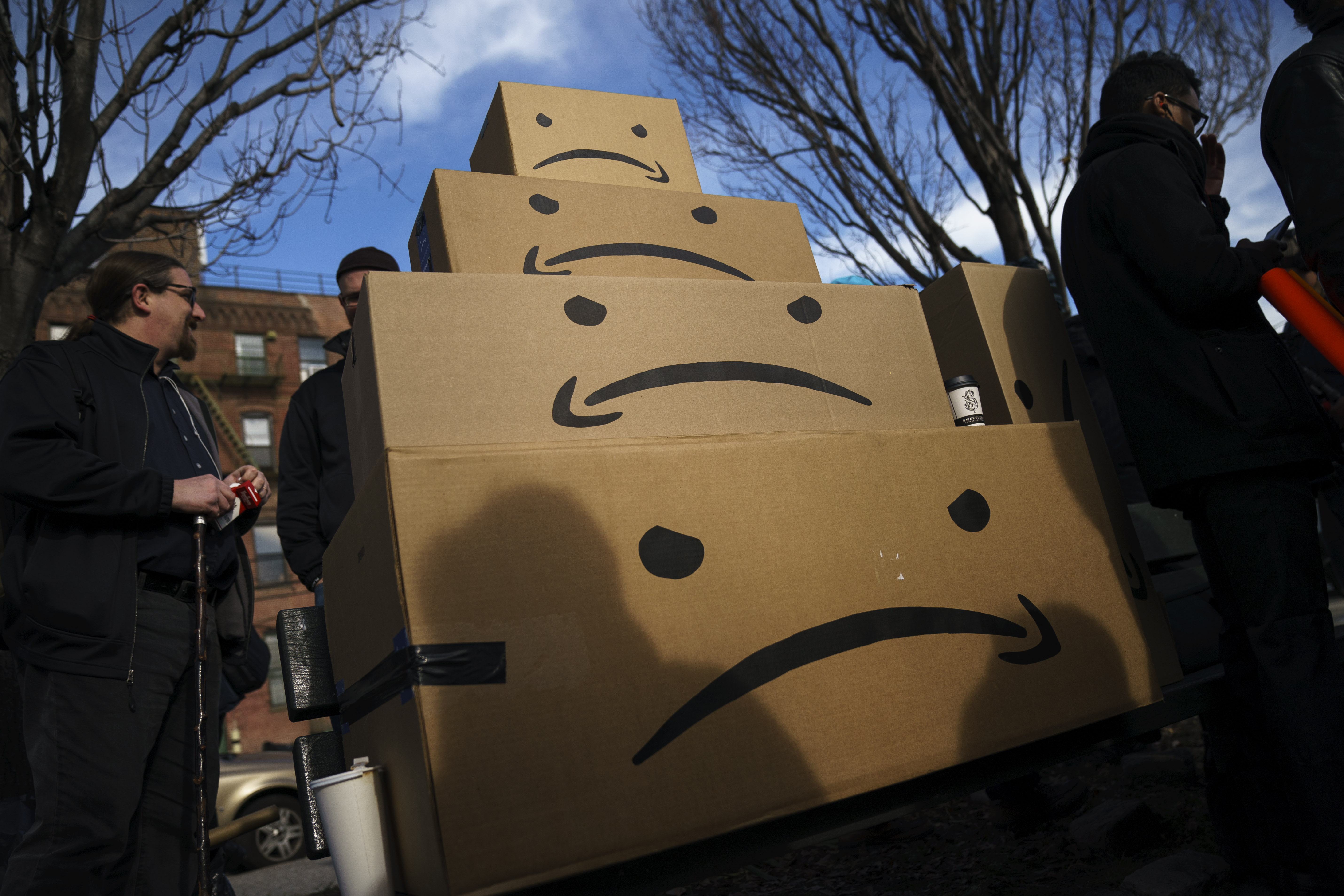 What does Amazon owe New York City?
