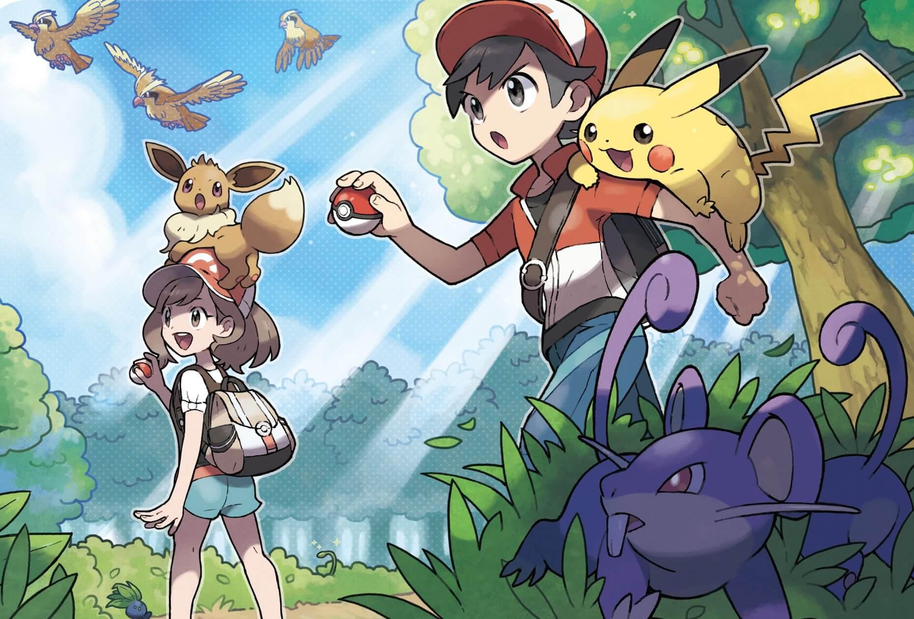 Should you play Pokémon: Let's Go, Pikachu or Eevee?