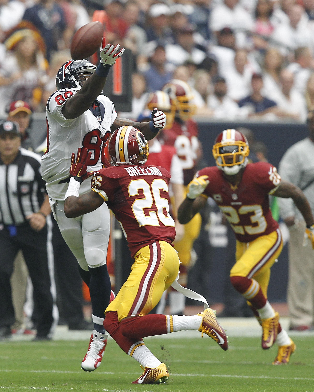 Washington Redskins v Houston Texans