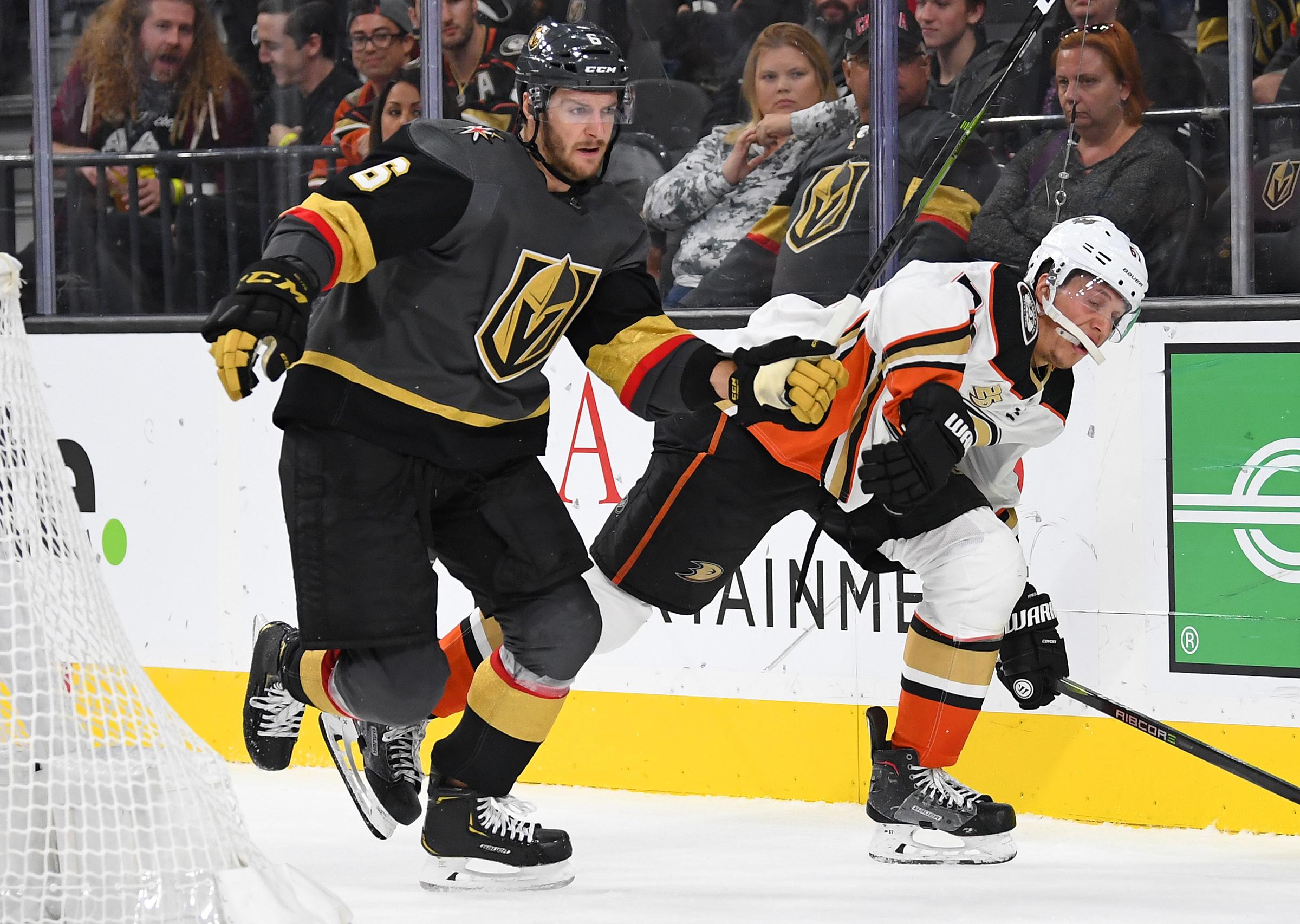 NHL: Anaheim Ducks at Vegas Golden Knights
