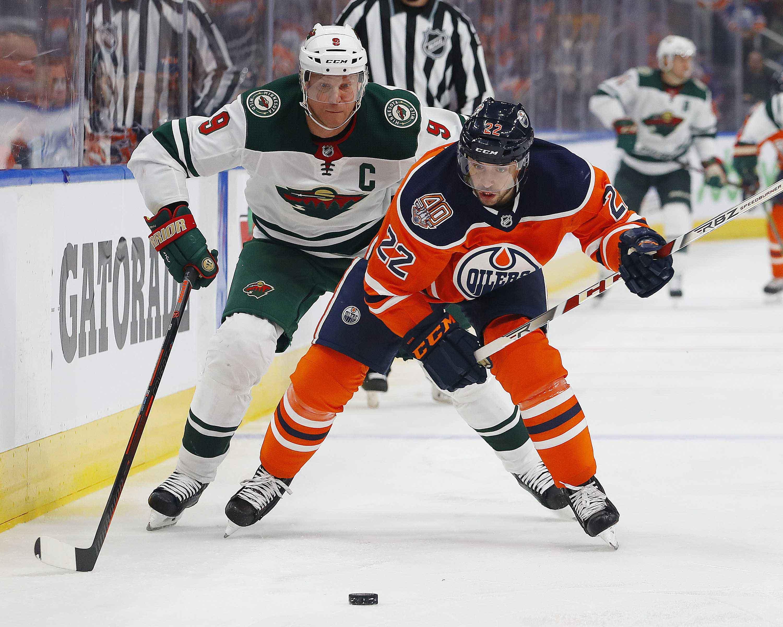NHL: Minnesota Wild at Edmonton Oilers