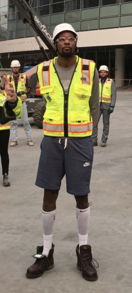 NBA B-Sides: Kevin Durant as a construction worker is the perfect distraction from Warriors drama