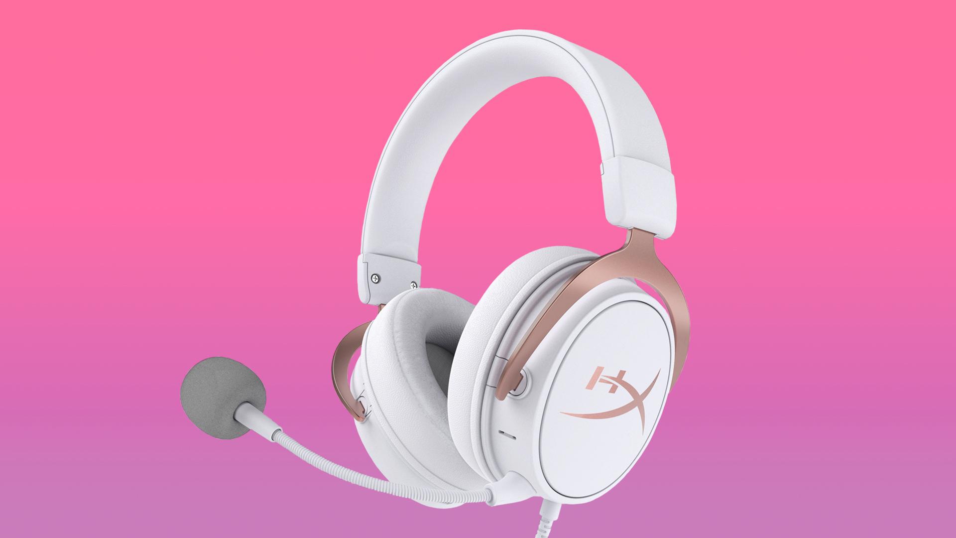 Cloud Mix Rose Gold Headphones