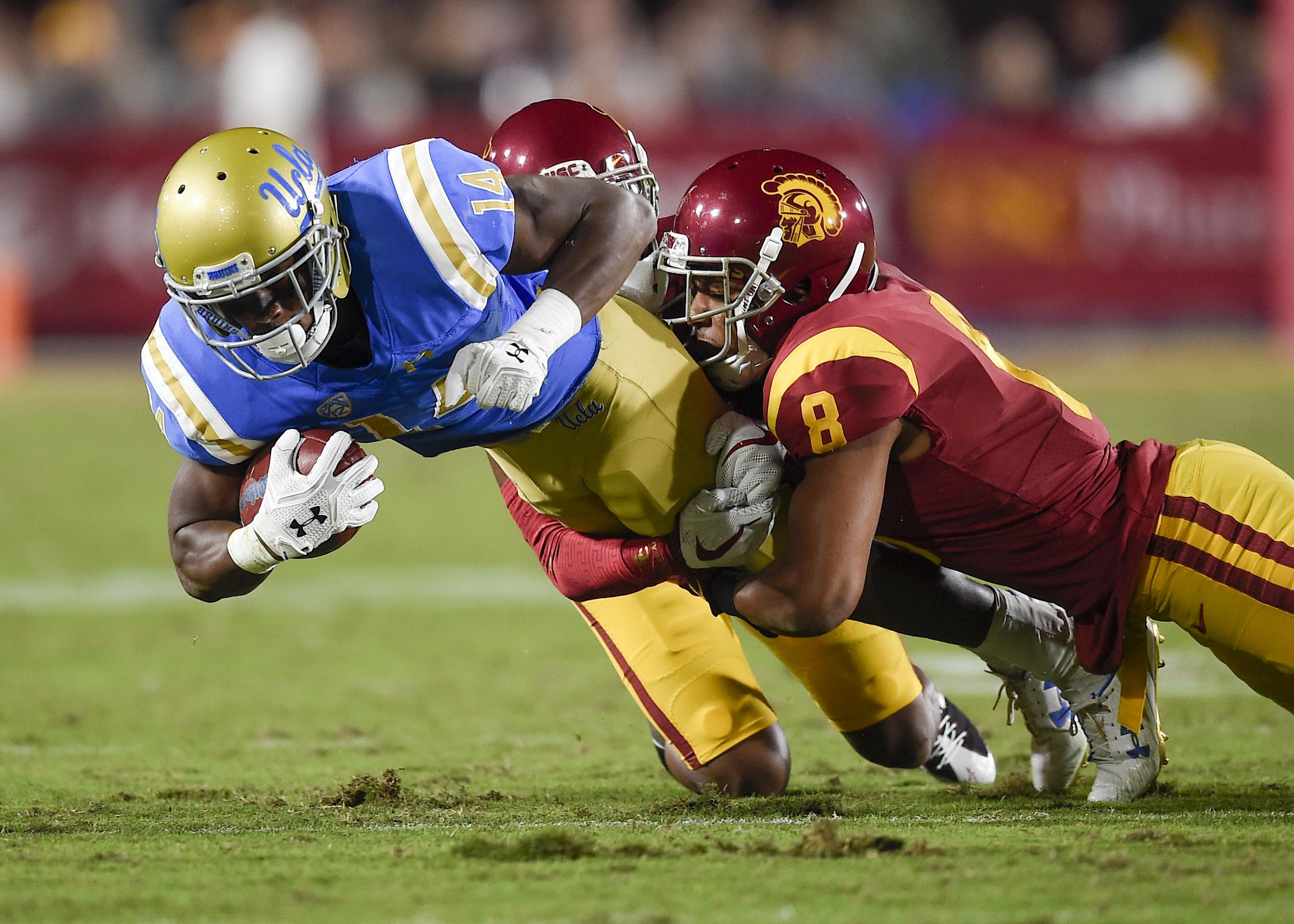 NCAA Football: UCLA at Southern California