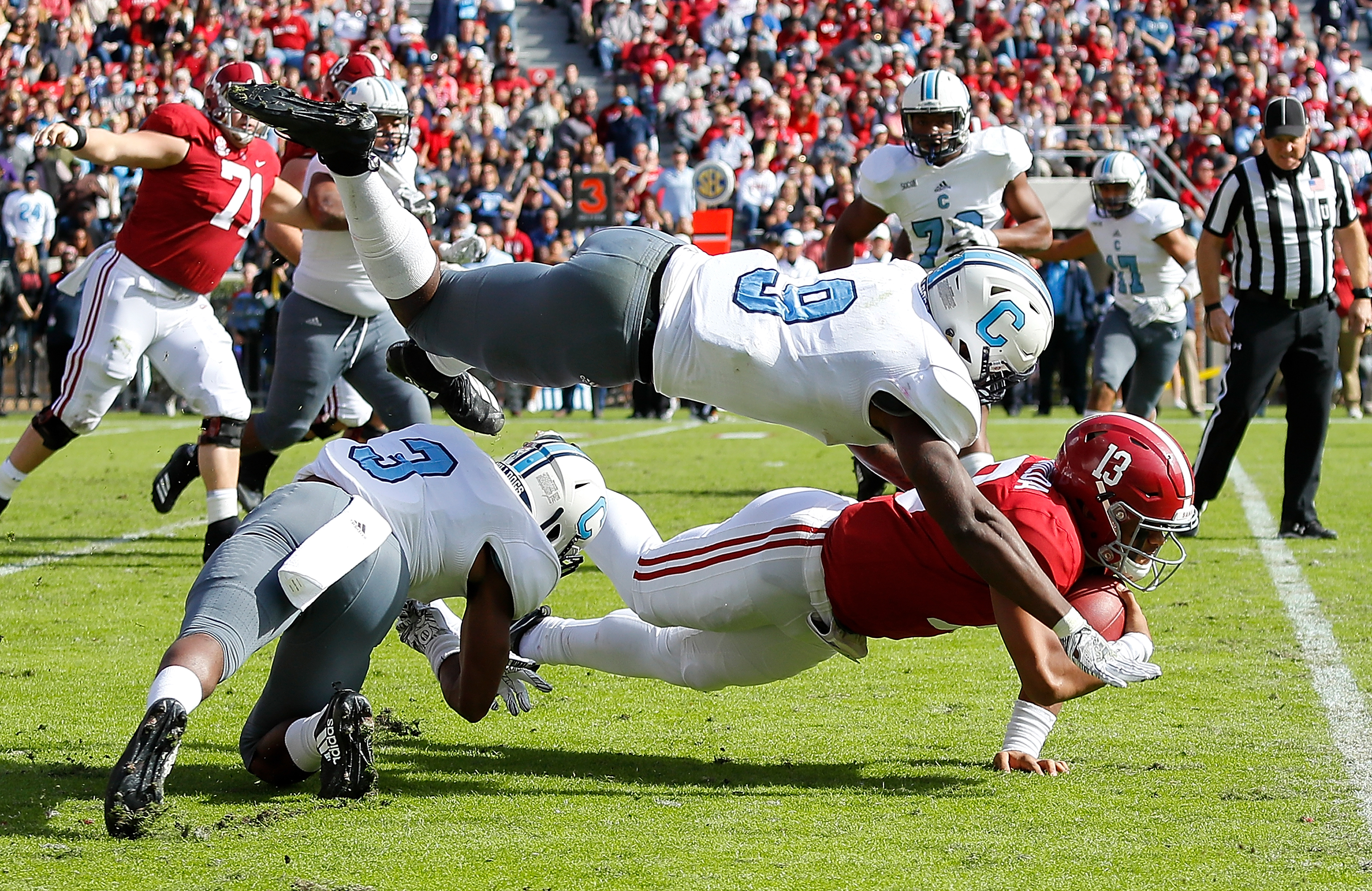 8 reasons The Citadel's first half against Alabama was incredible